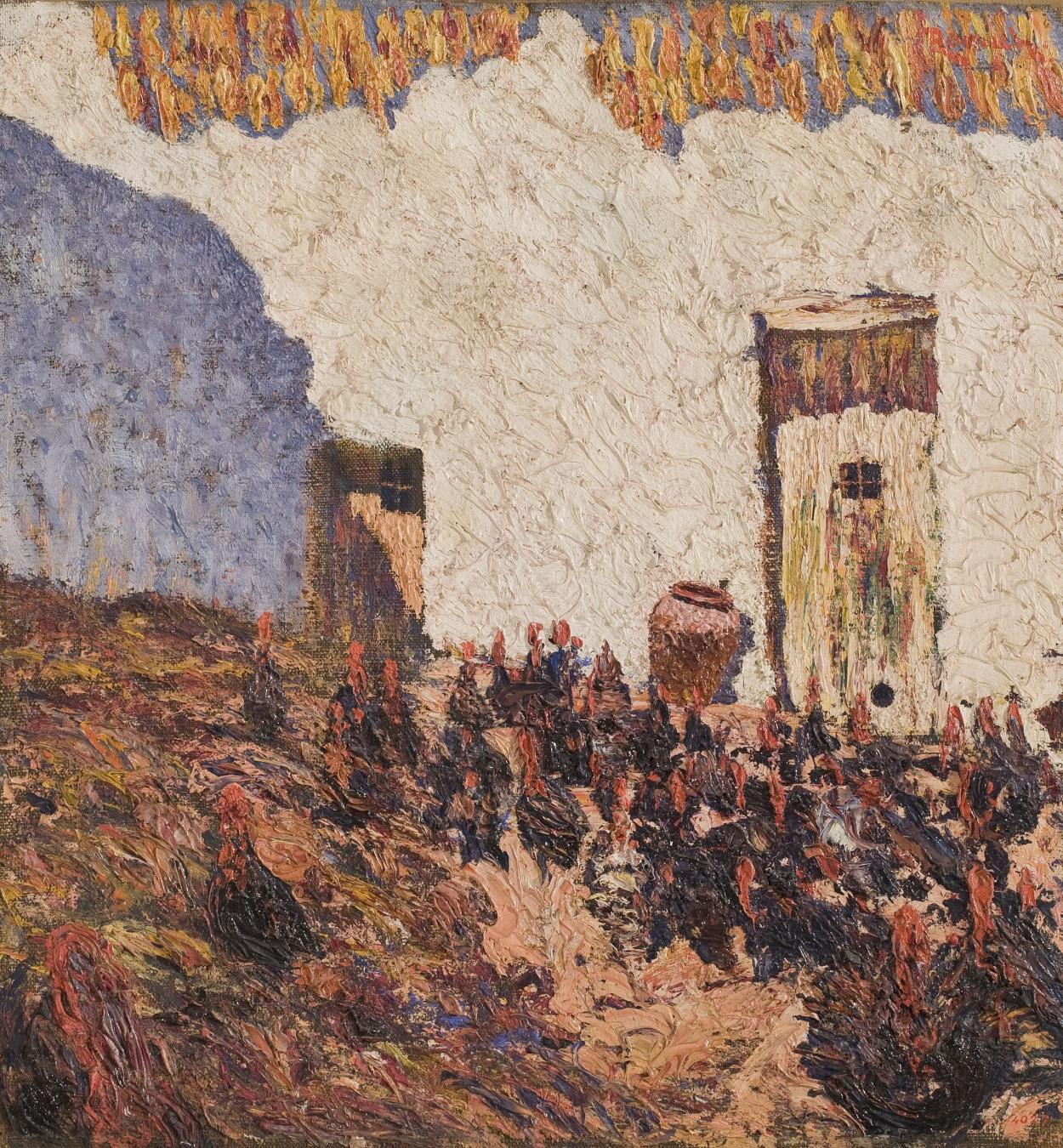Nicolau Raurich - Turkeys (Sant Pol de Mar) - Circa 1912
