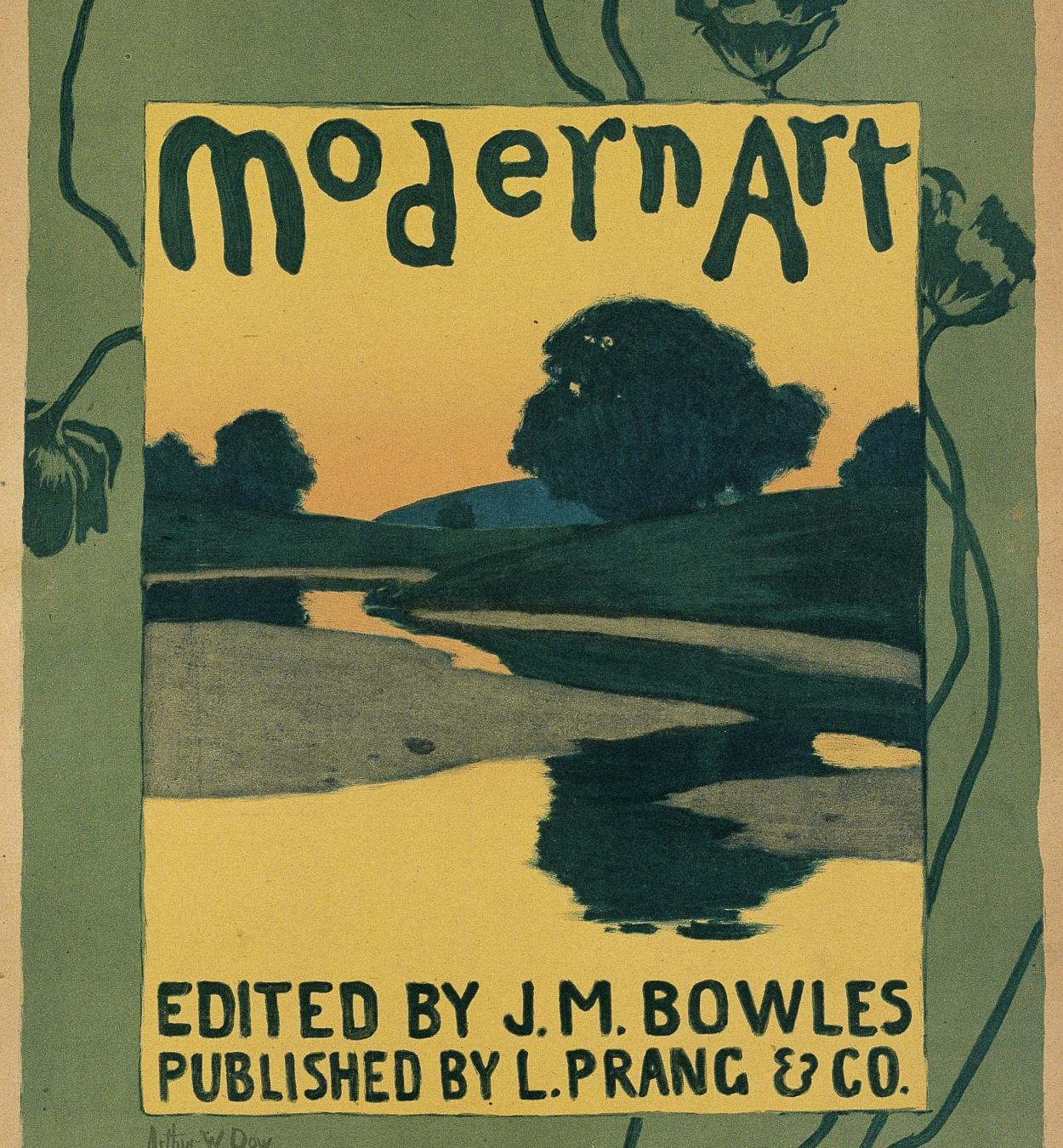 Arthur Wesley Dow - Modern Art - 1895