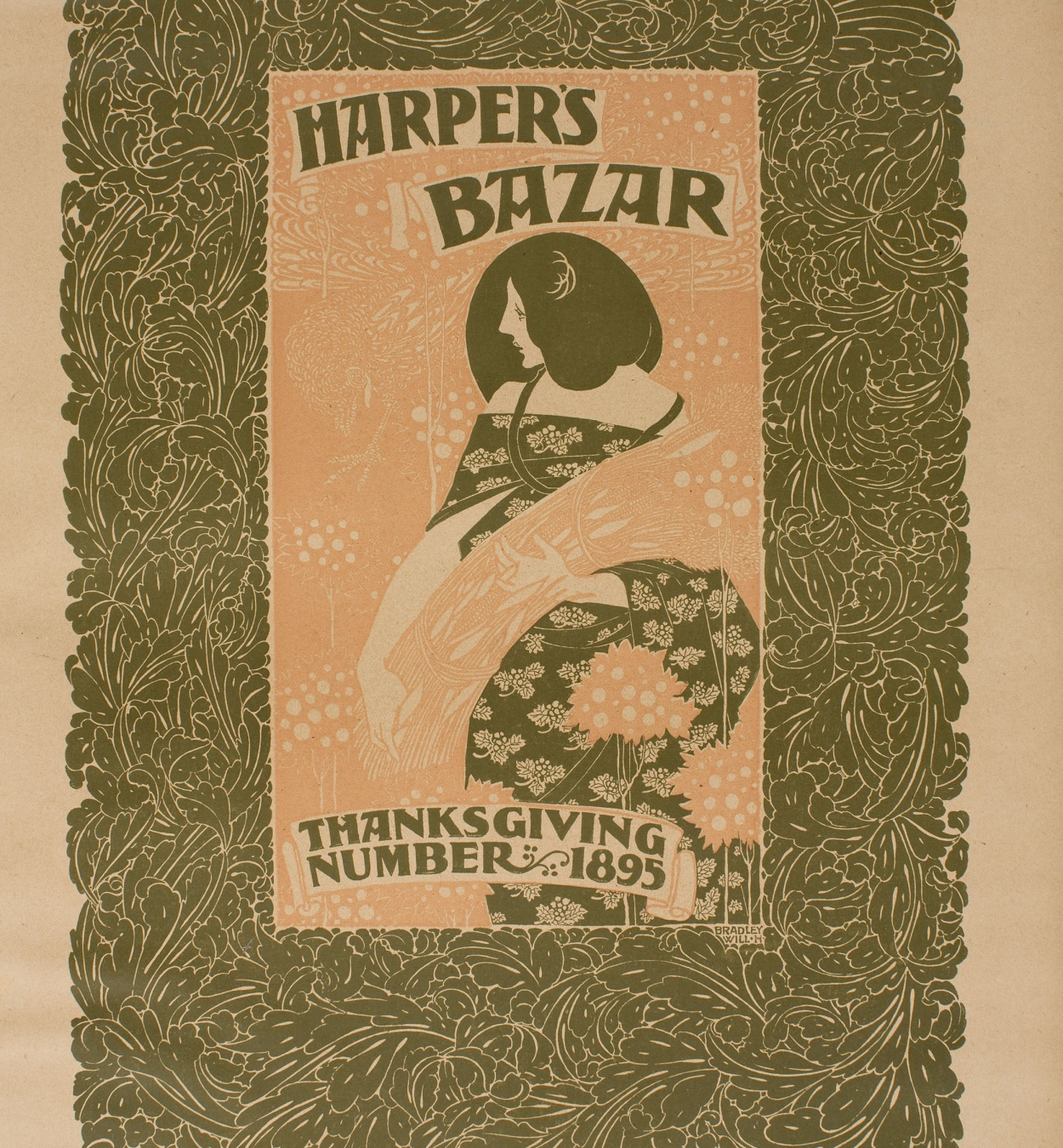 William Henry Bradley - Harper's Bazar. Thanksgiving Number 1895 - 1895