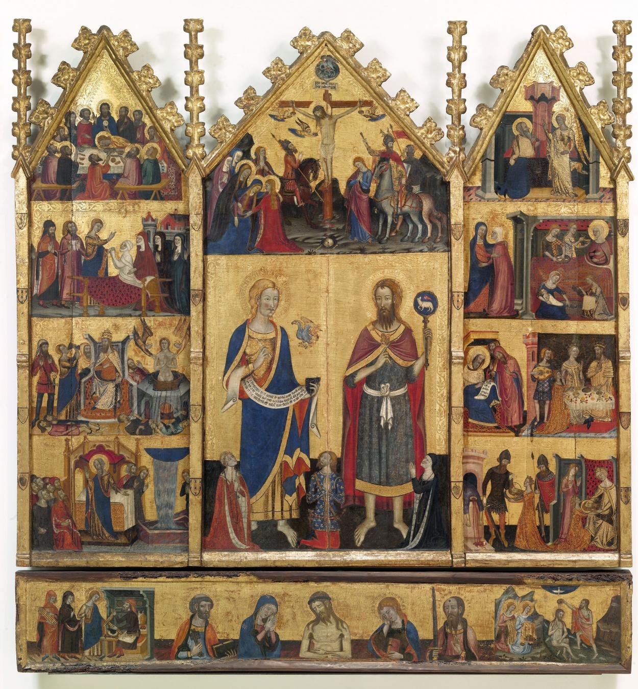 Mestre de Santa Coloma de Queralt - Retaule dels sants Joans - Cap a 1356