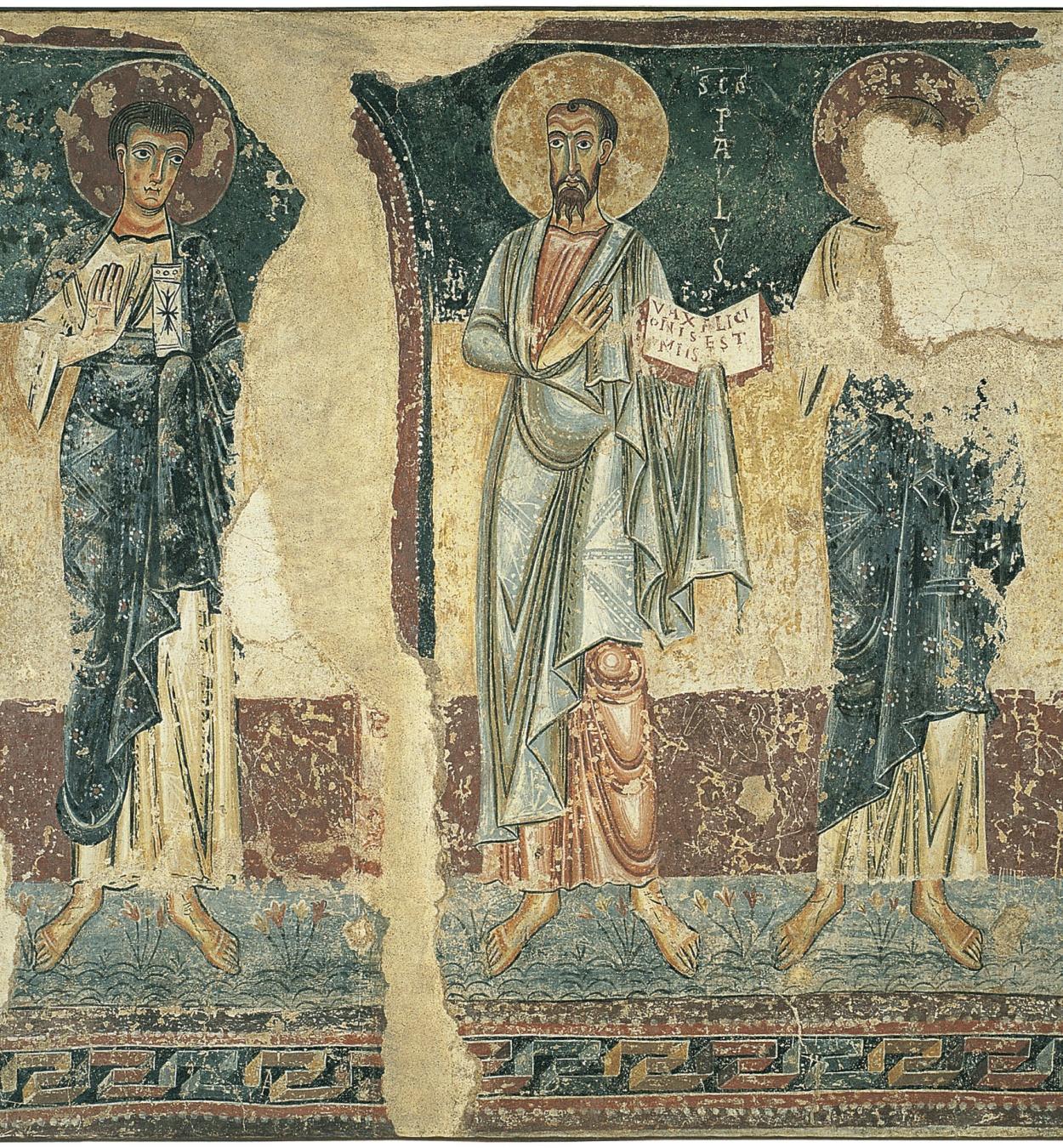 Anònim. Catalunya - Apòstols d'Orcau - Primera meitat del segle XII