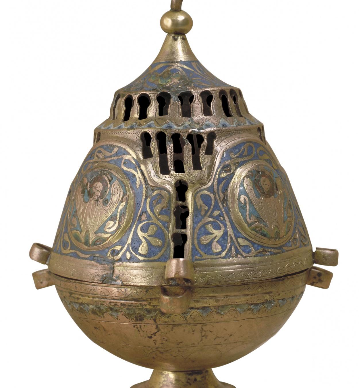 Anònim - Encenser - Llemotges, segona meitat del segle XIII