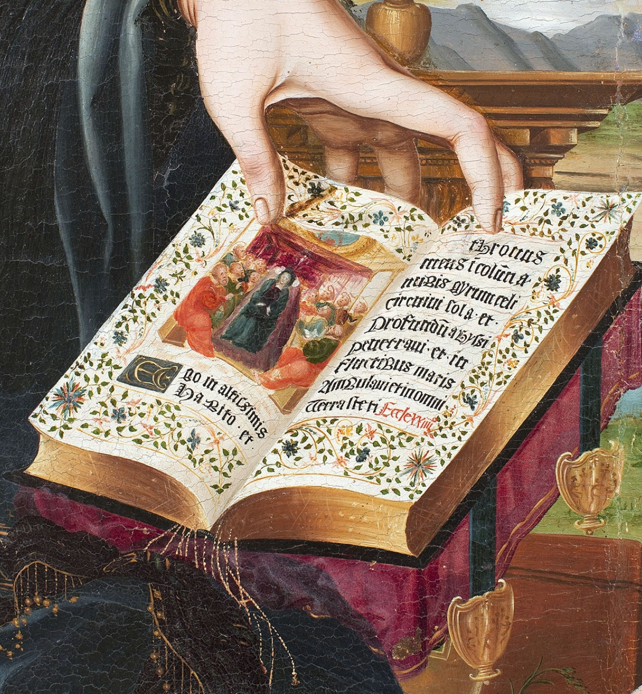 Joan de Burgunya - Mare de Déu amb el Nen i sant Joanet - Entre 1515-1525 [1]