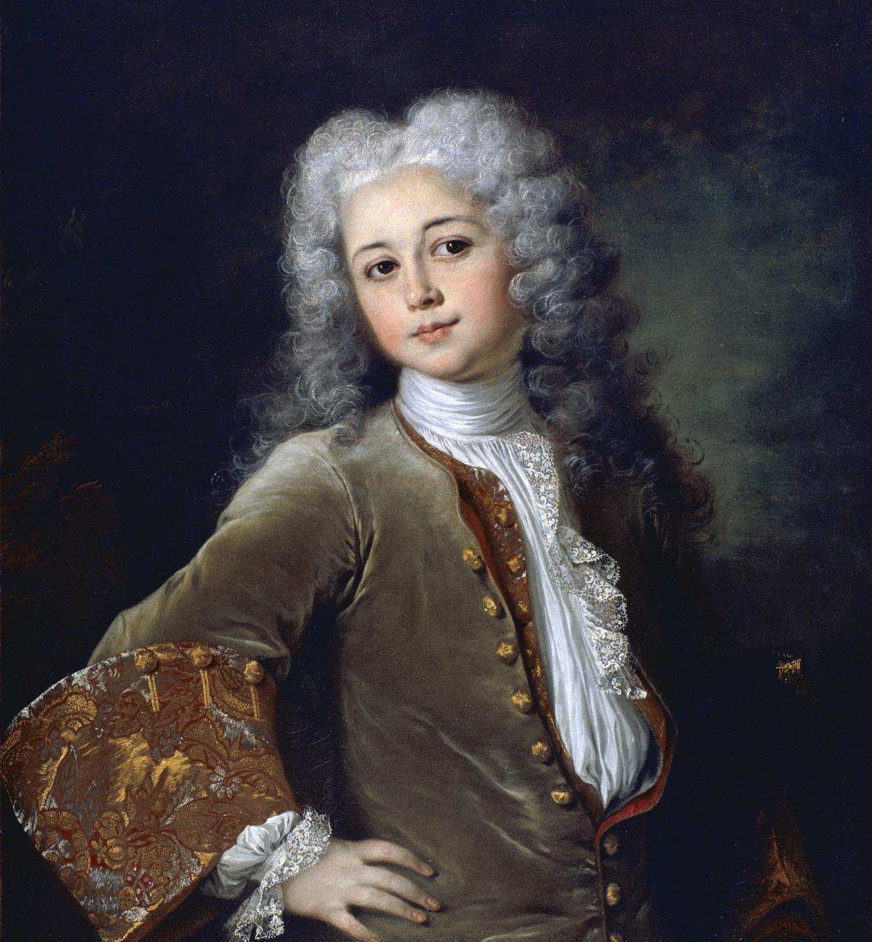Nicolas de Largillière - Retrat de jove amb perruca - Cap a 1700