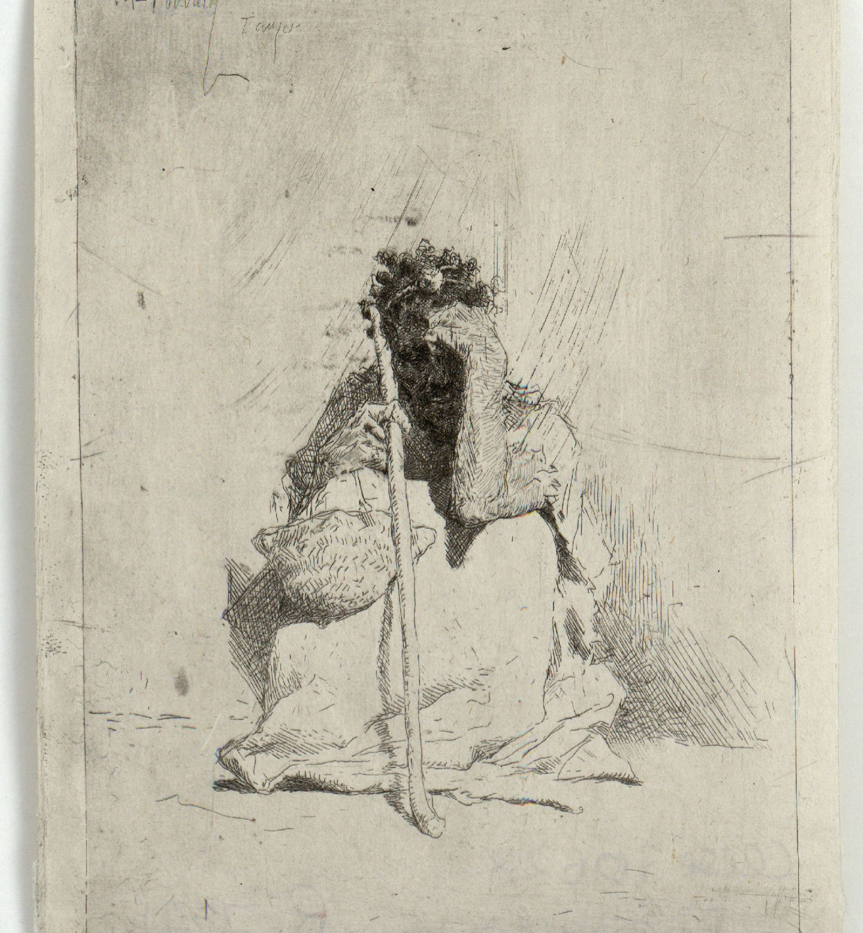 Marià Fortuny - Beggar - After 1862