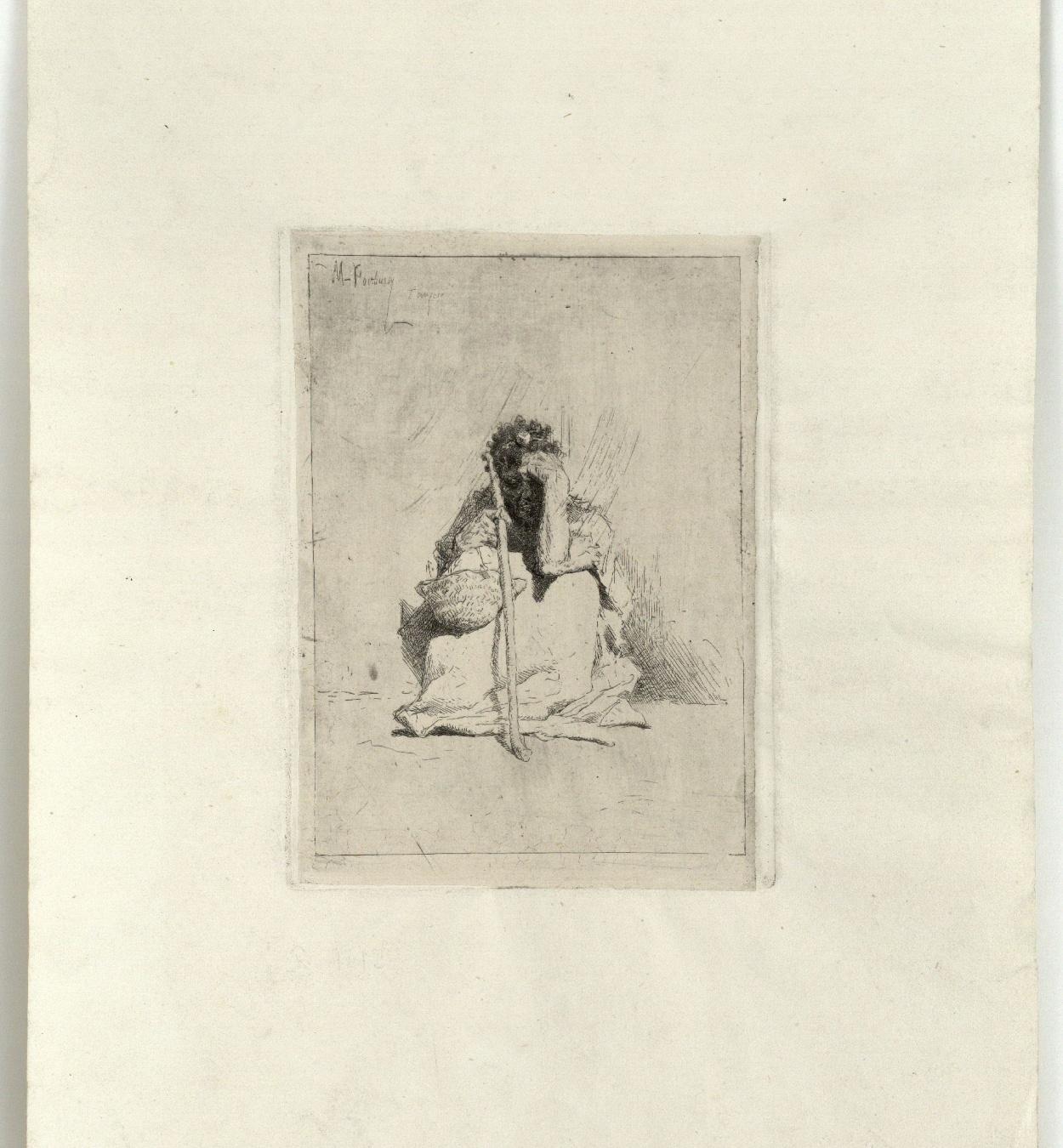 Marià Fortuny - Beggar - After 1862