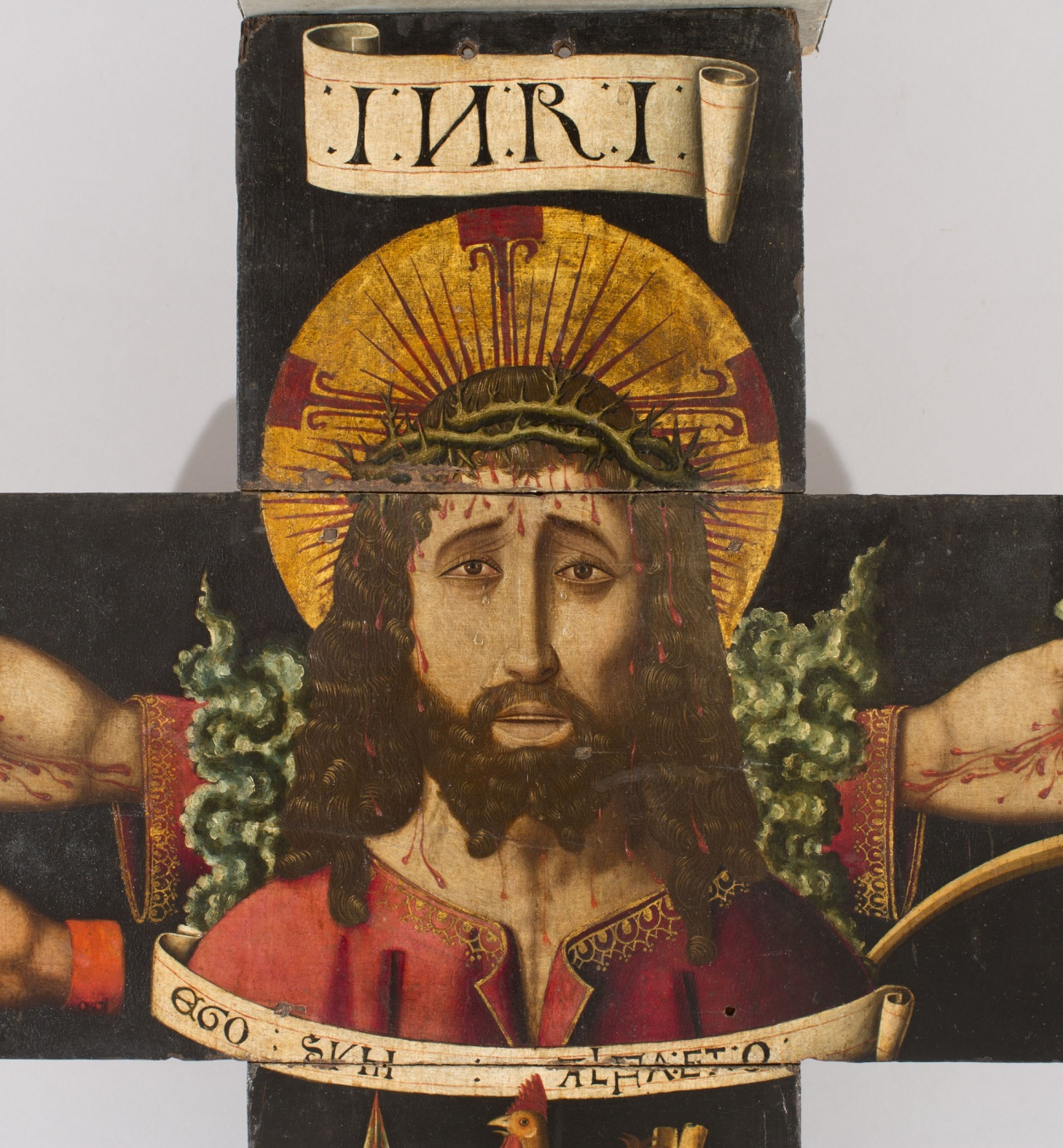 Martín Bernat - Processional cross with the bust of Christ and the Arma Christi - 1477-1505 [1]