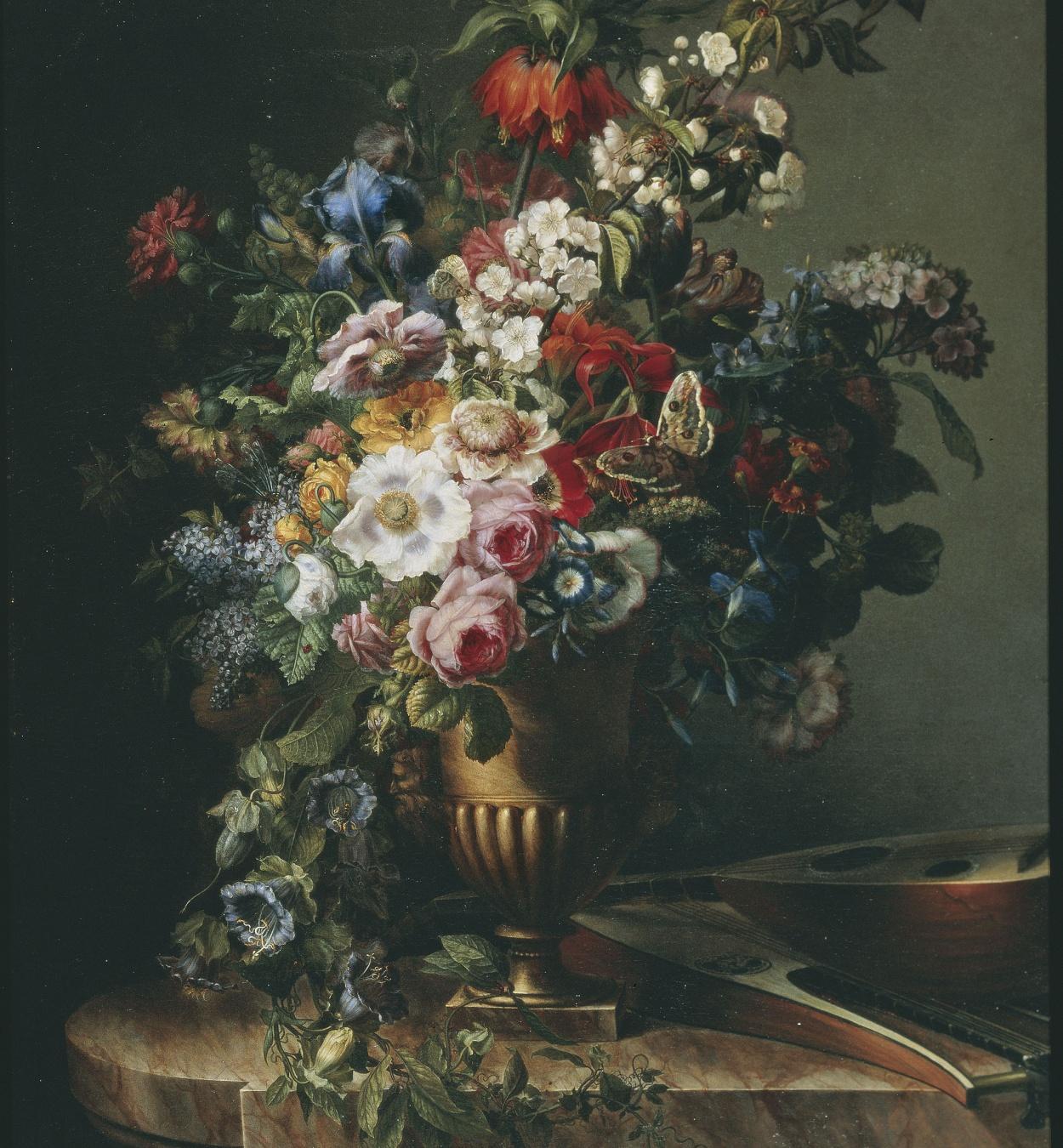 Francesc Lacoma i Fontanet - Gerro amb flors - París, 1805