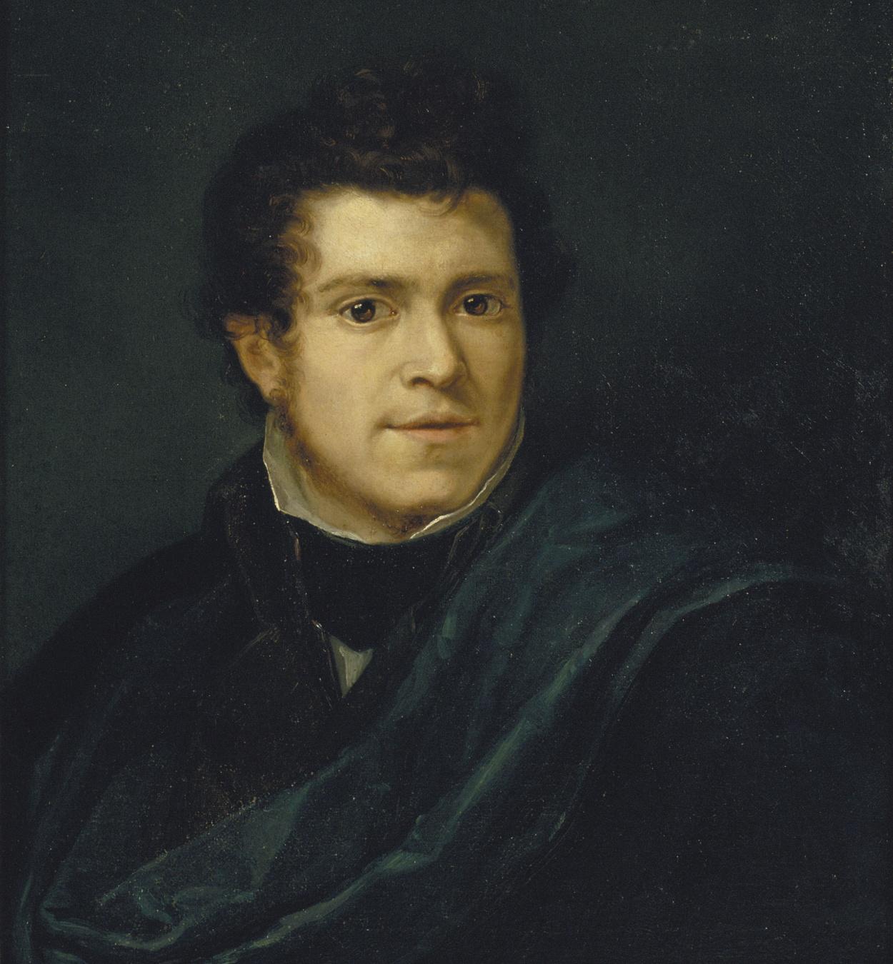 Pelegrí Clavé - Autoretrat - Cap a 1833-1834