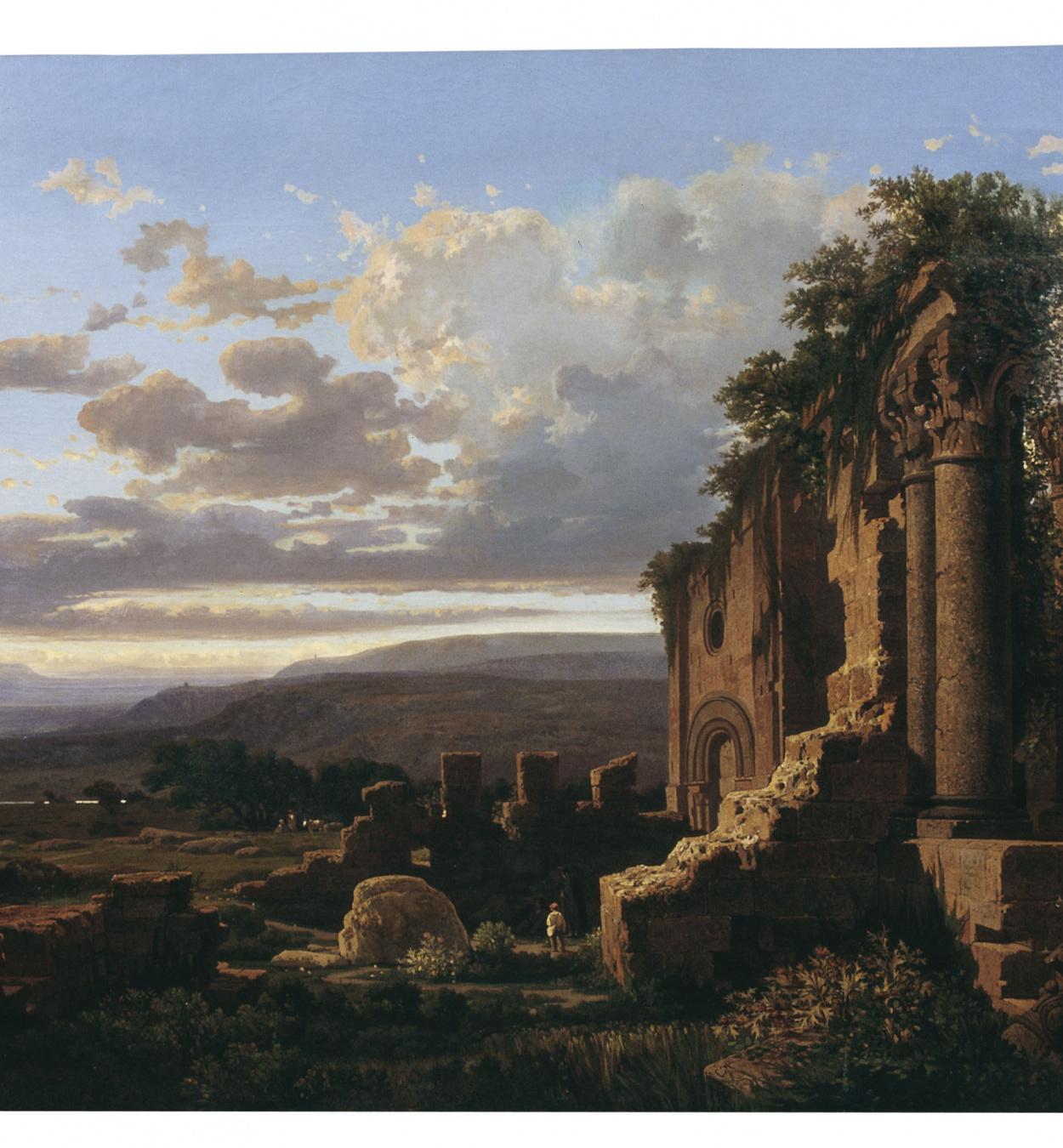 Lluís Rigalt - Ruïnes - Barcelona, 1865