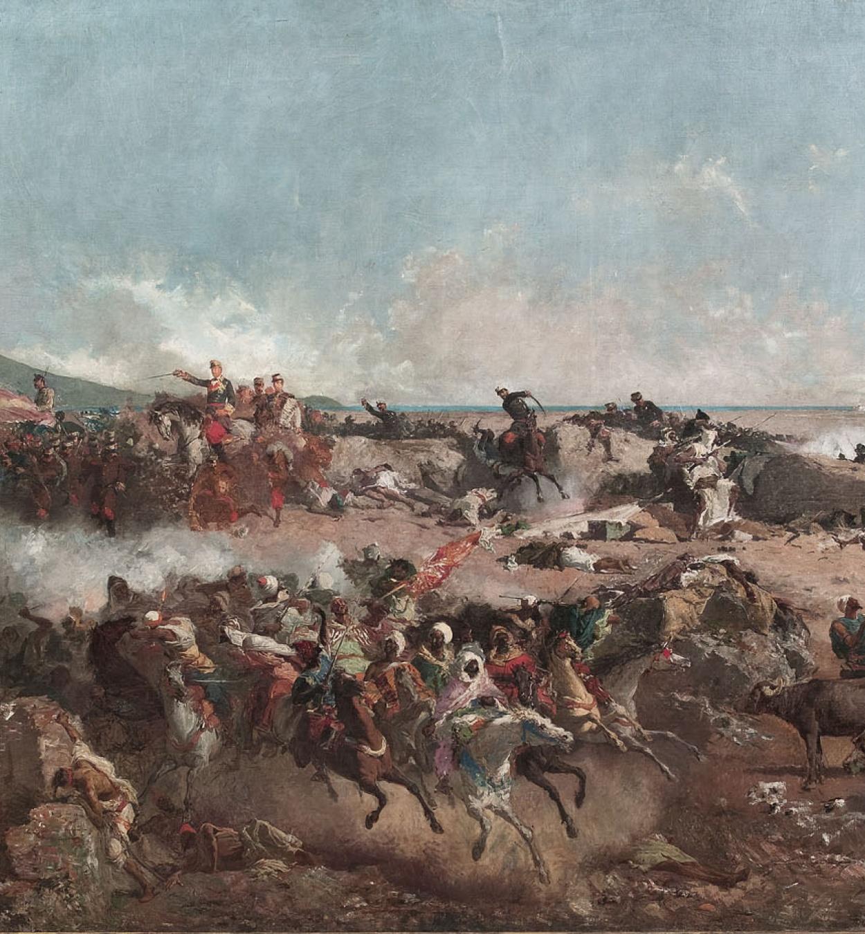 Museu Nacional d'Art de Catalunya | La batalla de Tetuan