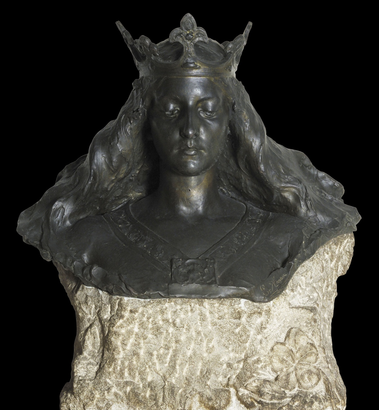 Eusebi Arnau - Bust de matrona representant Barcelona - 1897 [4]
