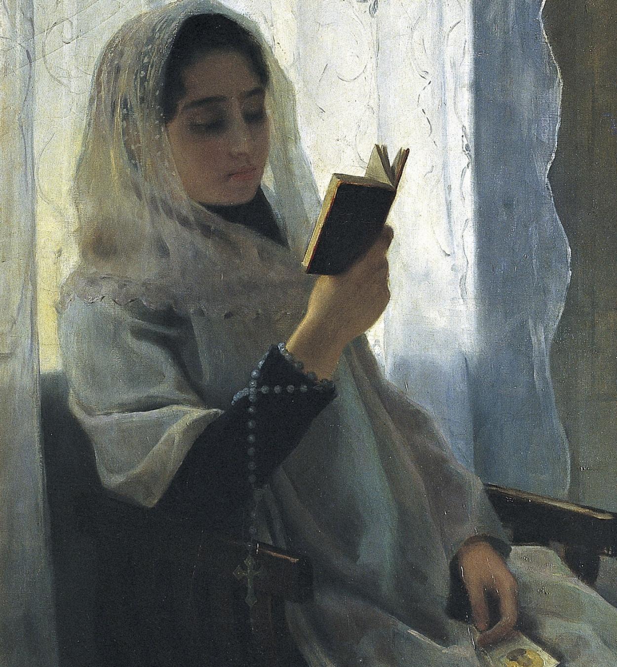 Joan Llimona - Lectura - 1891
