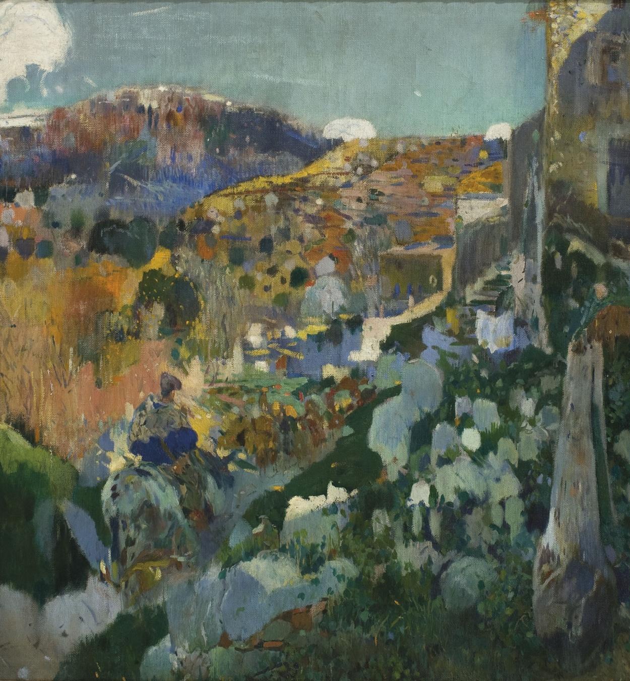 Joaquim Mir - La joya - L'Aleixar, hacia 1910