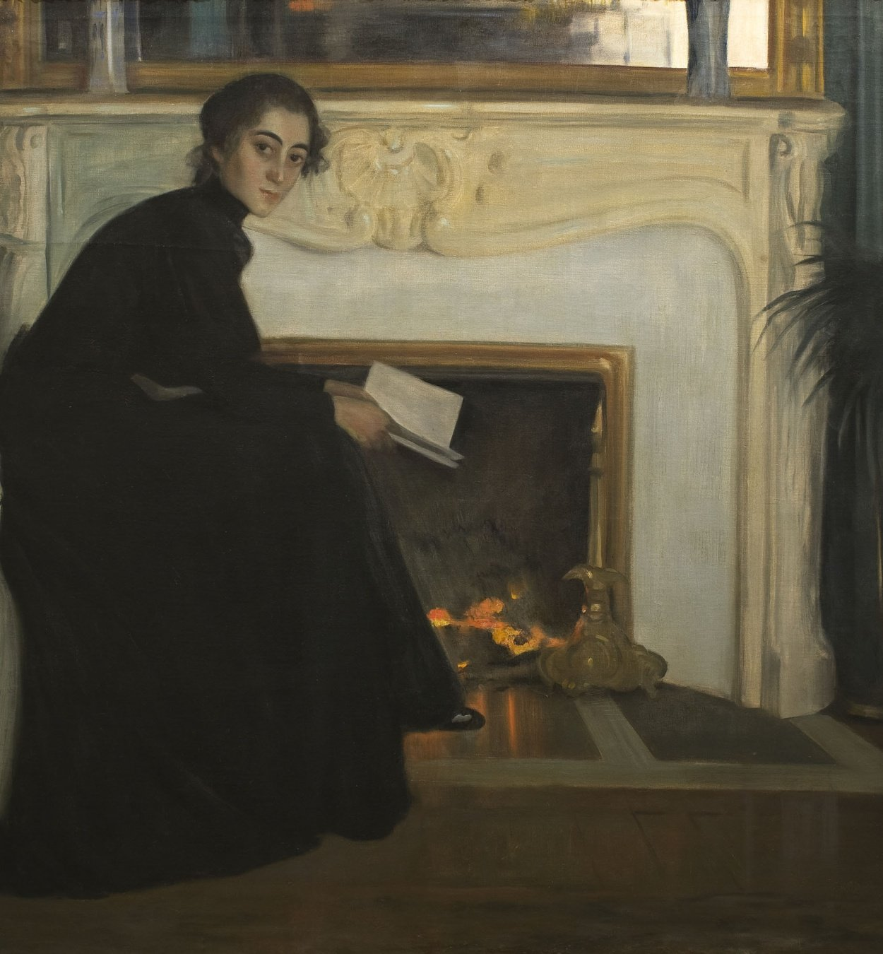 Santiago Rusiñol - Romantic Novel - Paris, 1894