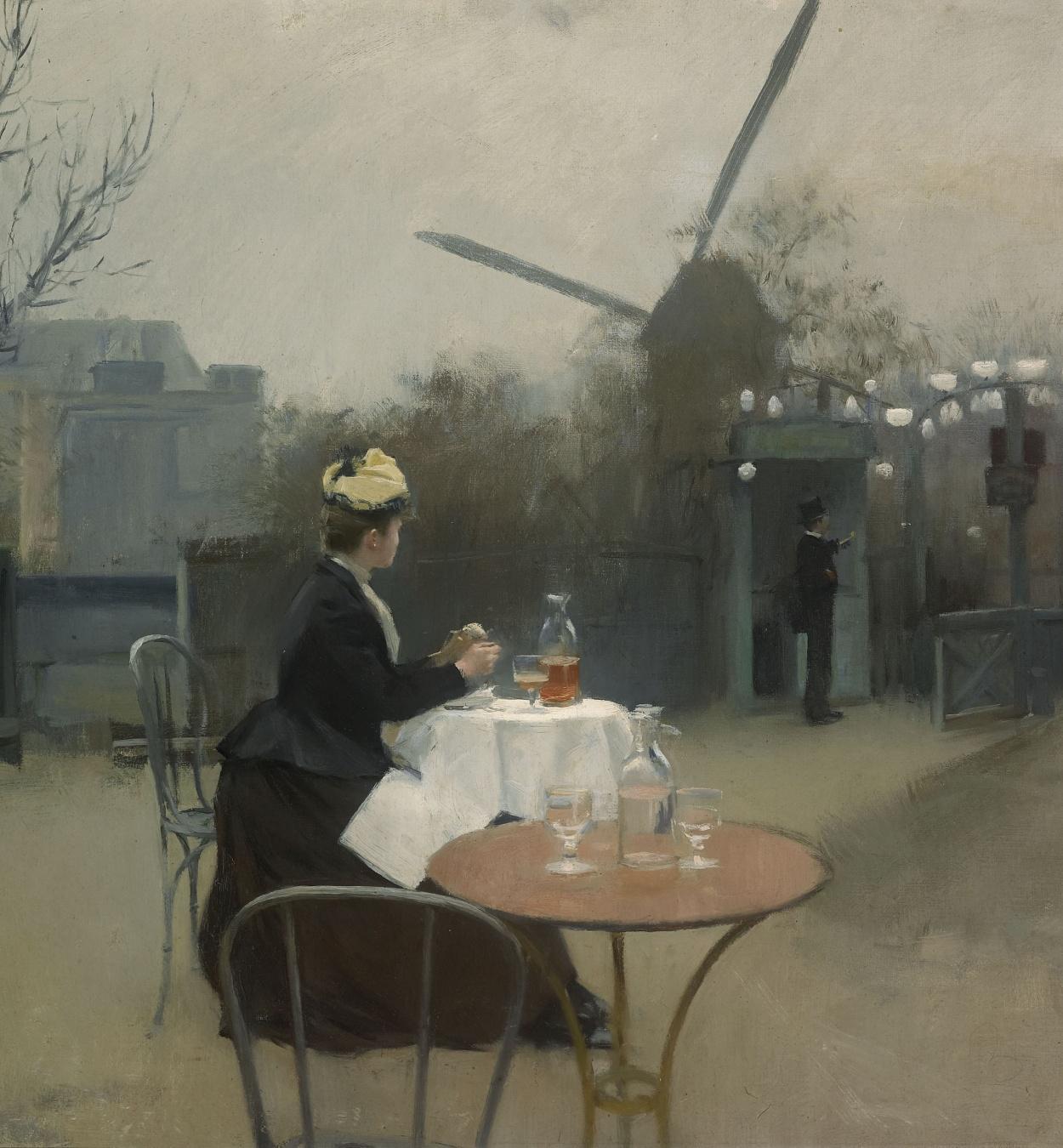 Ramon Casas - Plein air - París, cap a 1890-1891