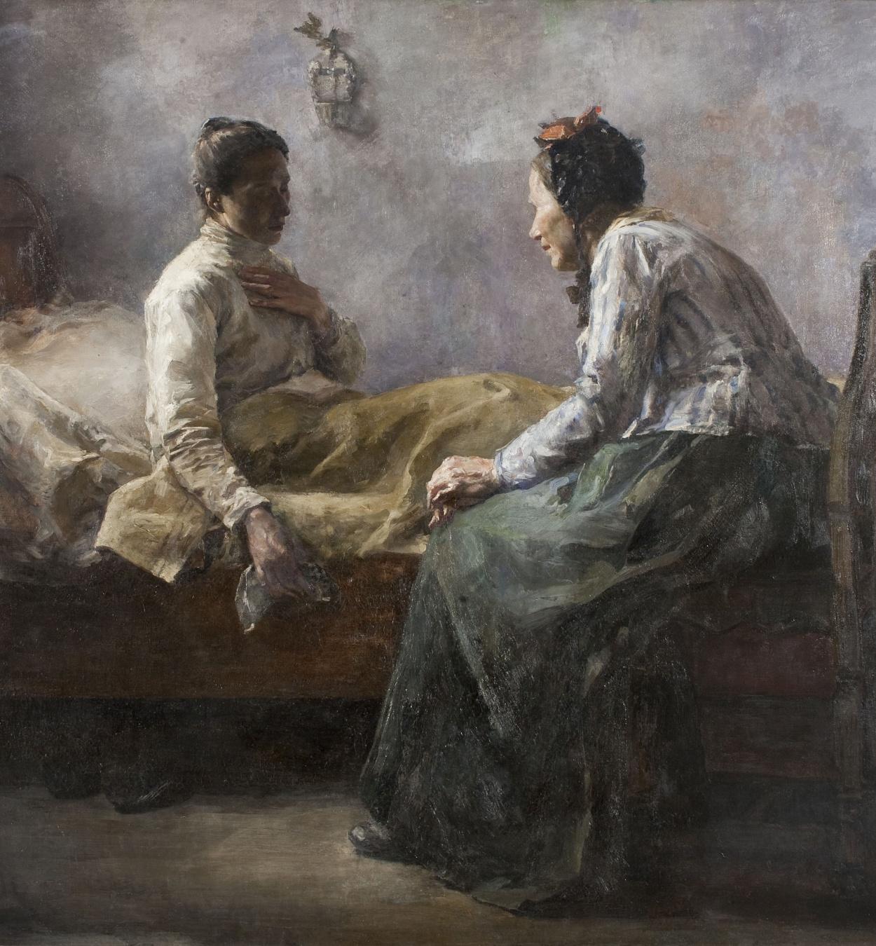 Leo van Aken - Miseria humana - 1890