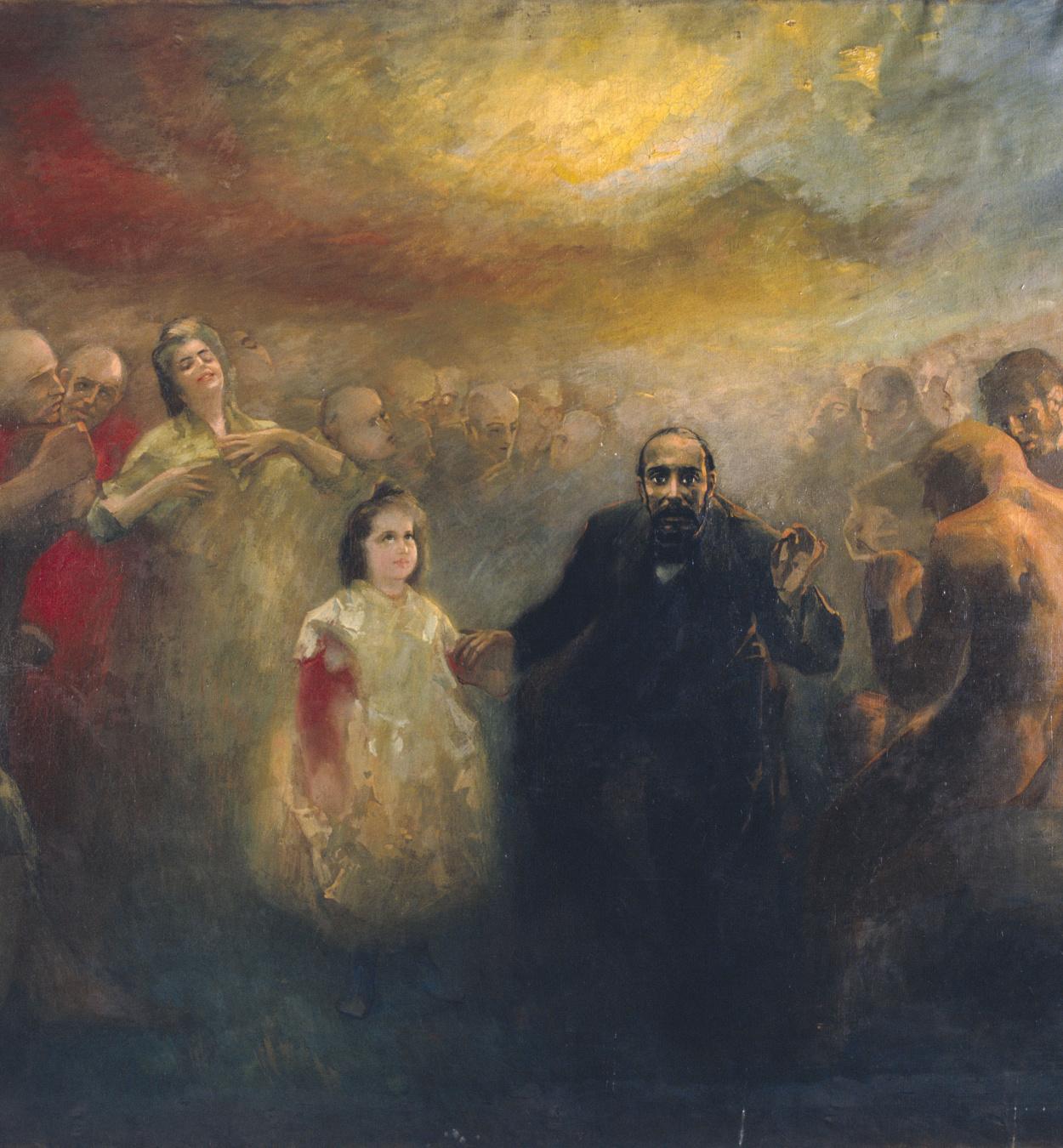 Aleix Clapés - Allegory of Doctor Robert - Circa 1890-1902