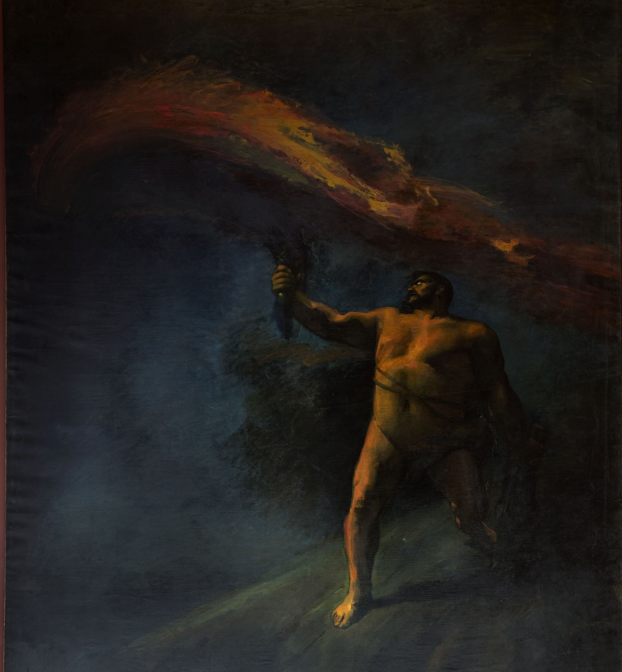 Aleix Clapés - Hercules Searching for the Hesperides - Circa 1890
