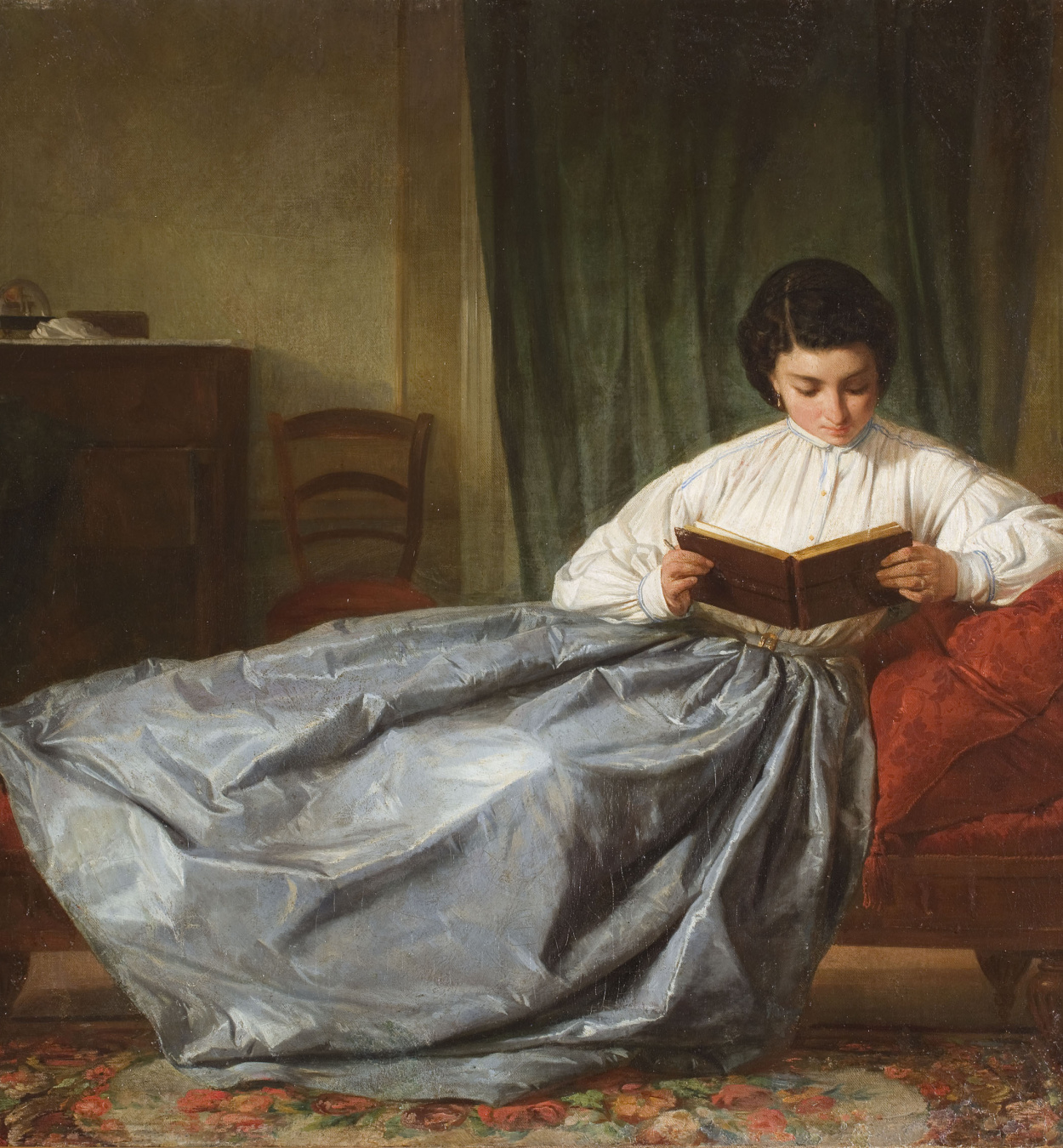 Josep Duran - Browsing the Album - Circa 1872