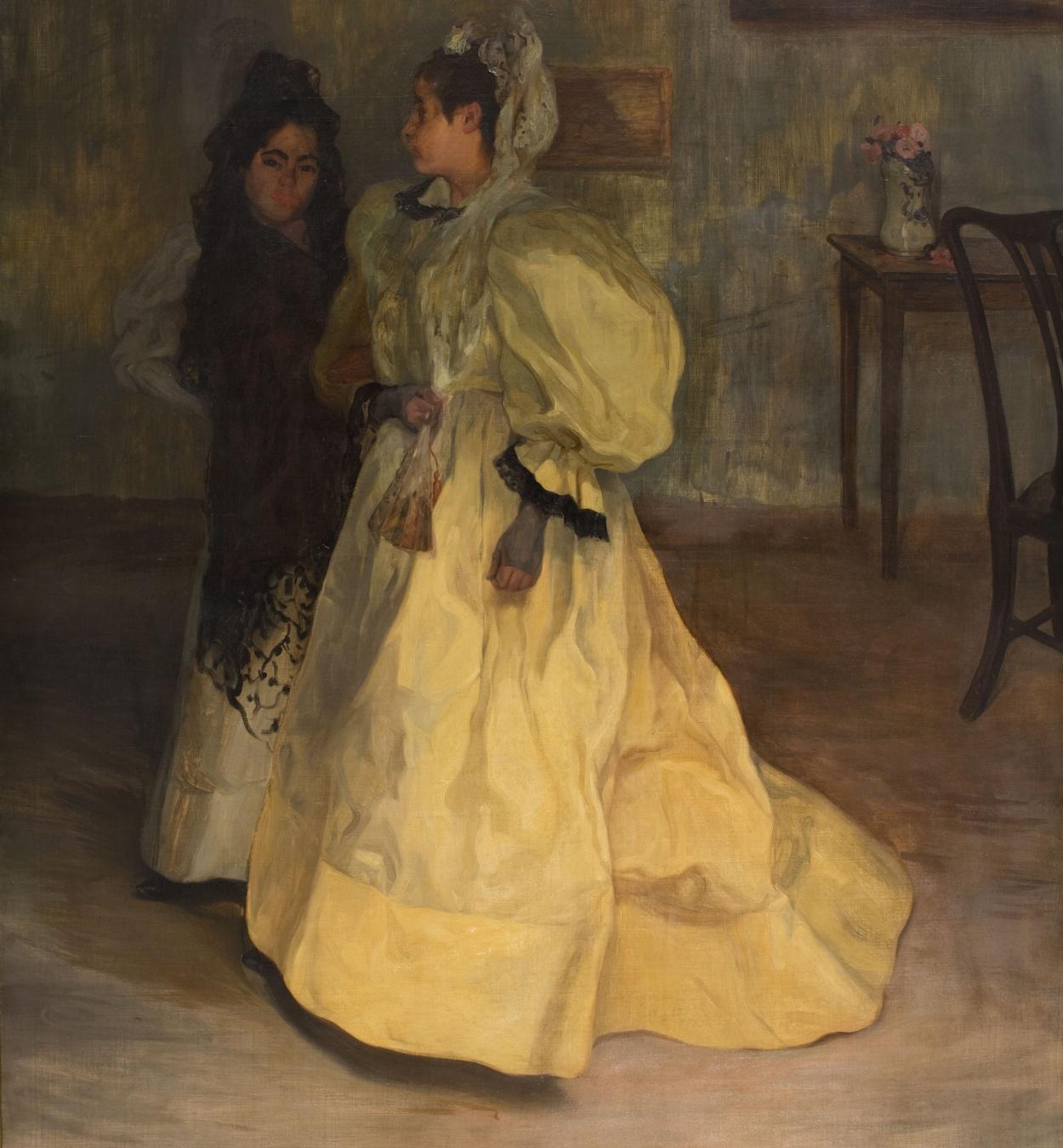 Ignacio Zuloaga - Amigues - 1896