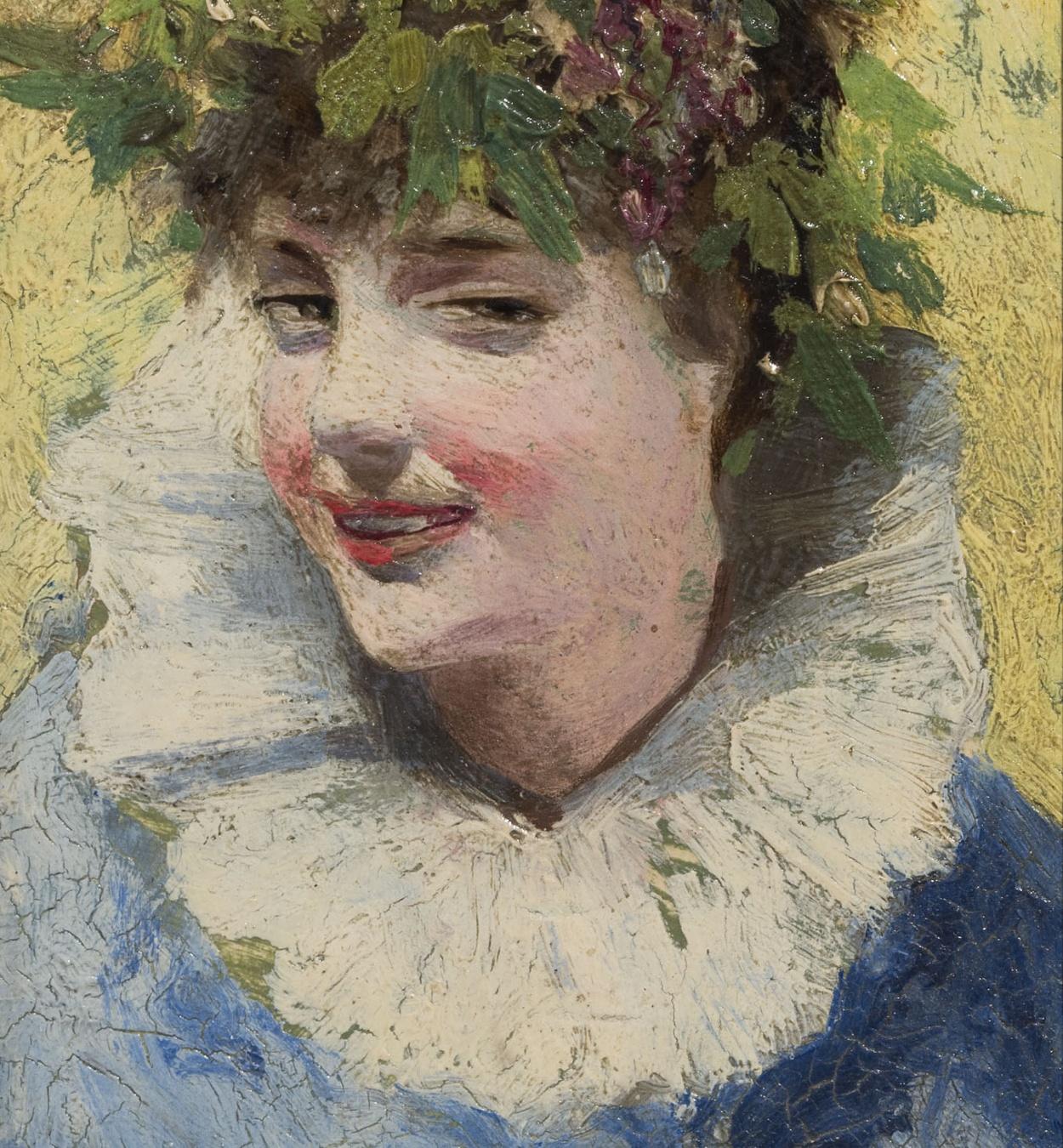 Alexandre de Riquer - Female bust - Circa 1890-1897
