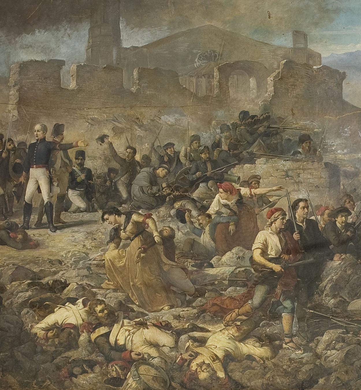 Ramon Martí i Alsina - The Great Day of Girona - 1863-1864