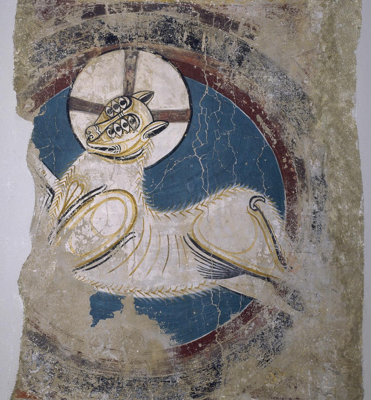 Mestre de Taüll - Arc de l'Anyell apocalíptic de Sant Climent de Taüll - Cap a 1123