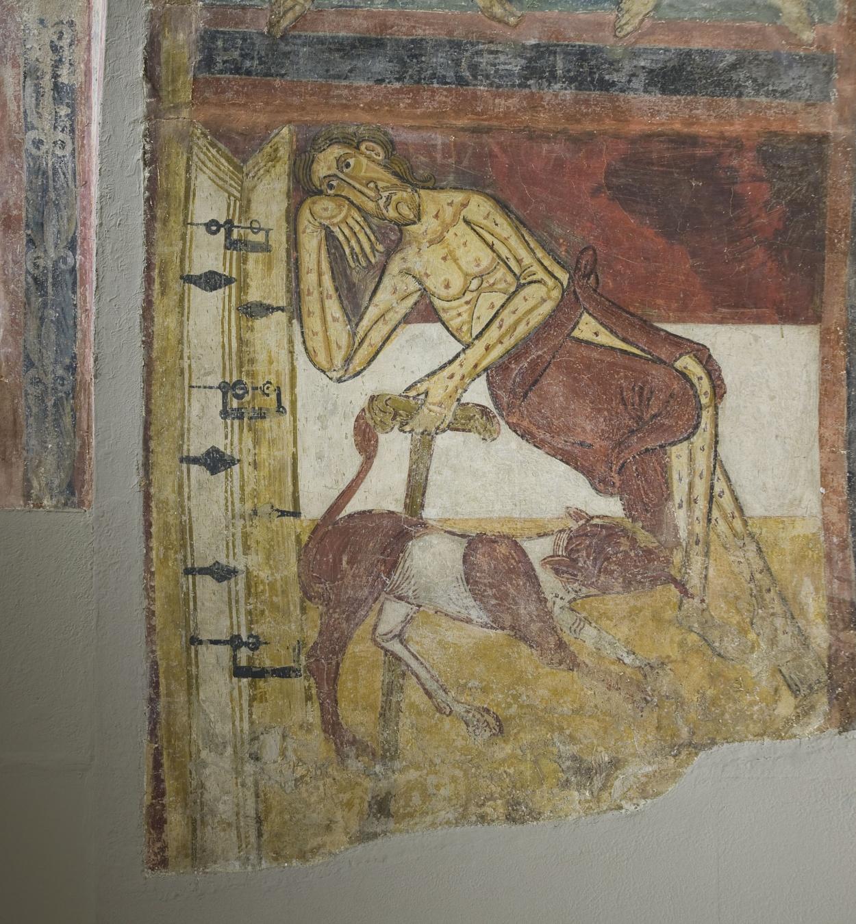 Mestre de Taüll - Arc de l'Anyell apocalíptic de Sant Climent de Taüll - Cap a 1123 [3]