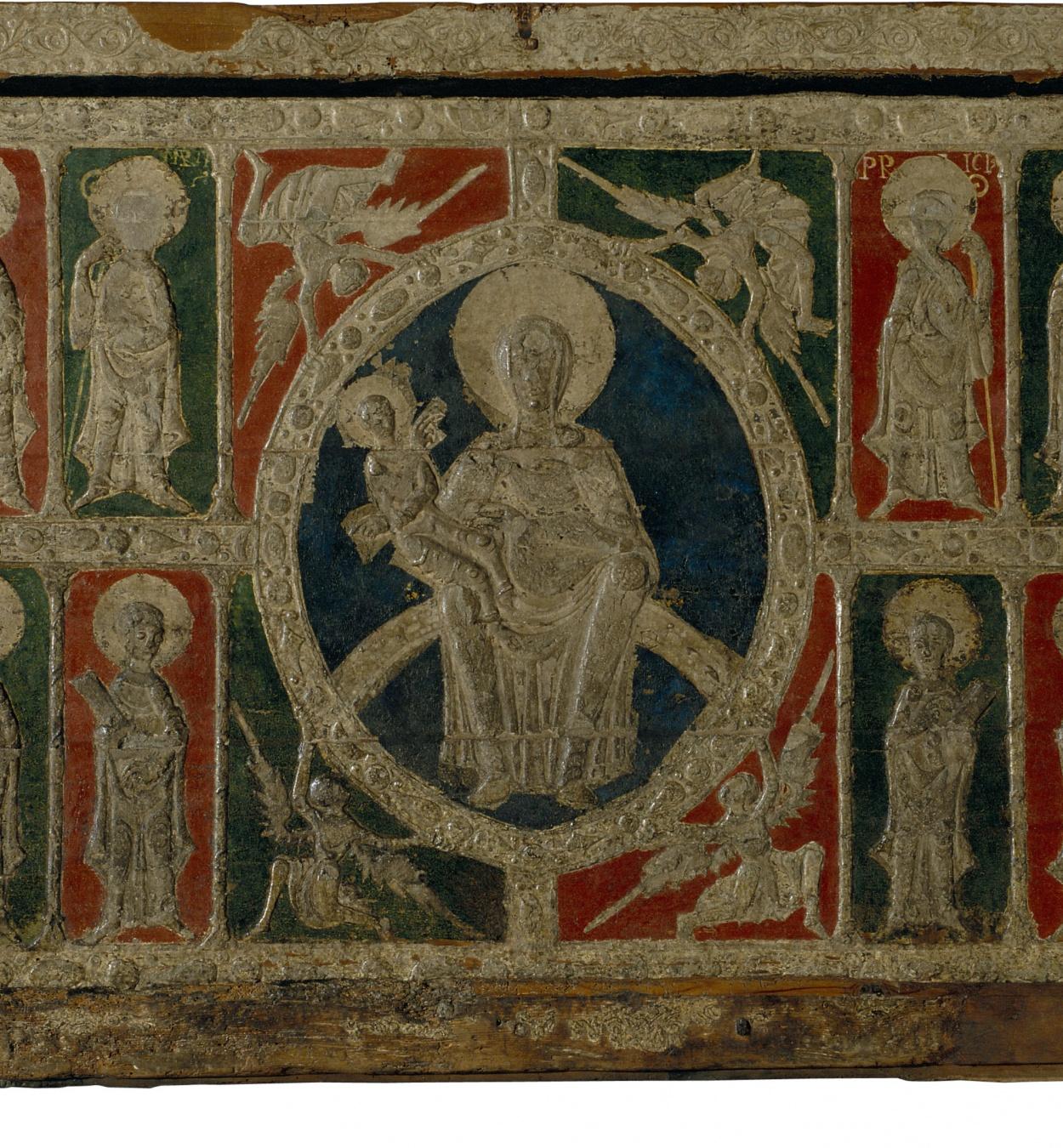 Anònim. Catalunya - Frontal d'altar d'Alós d'Isil - Primer quart del segle XIII