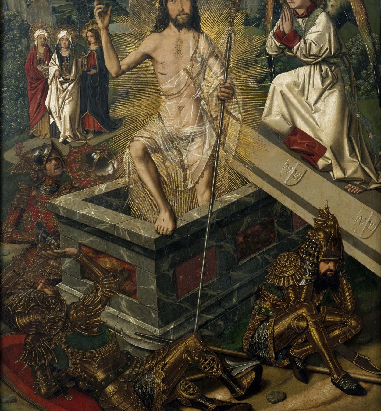 Bartolomé Bermejo - Resurrecció - Cap a 1475