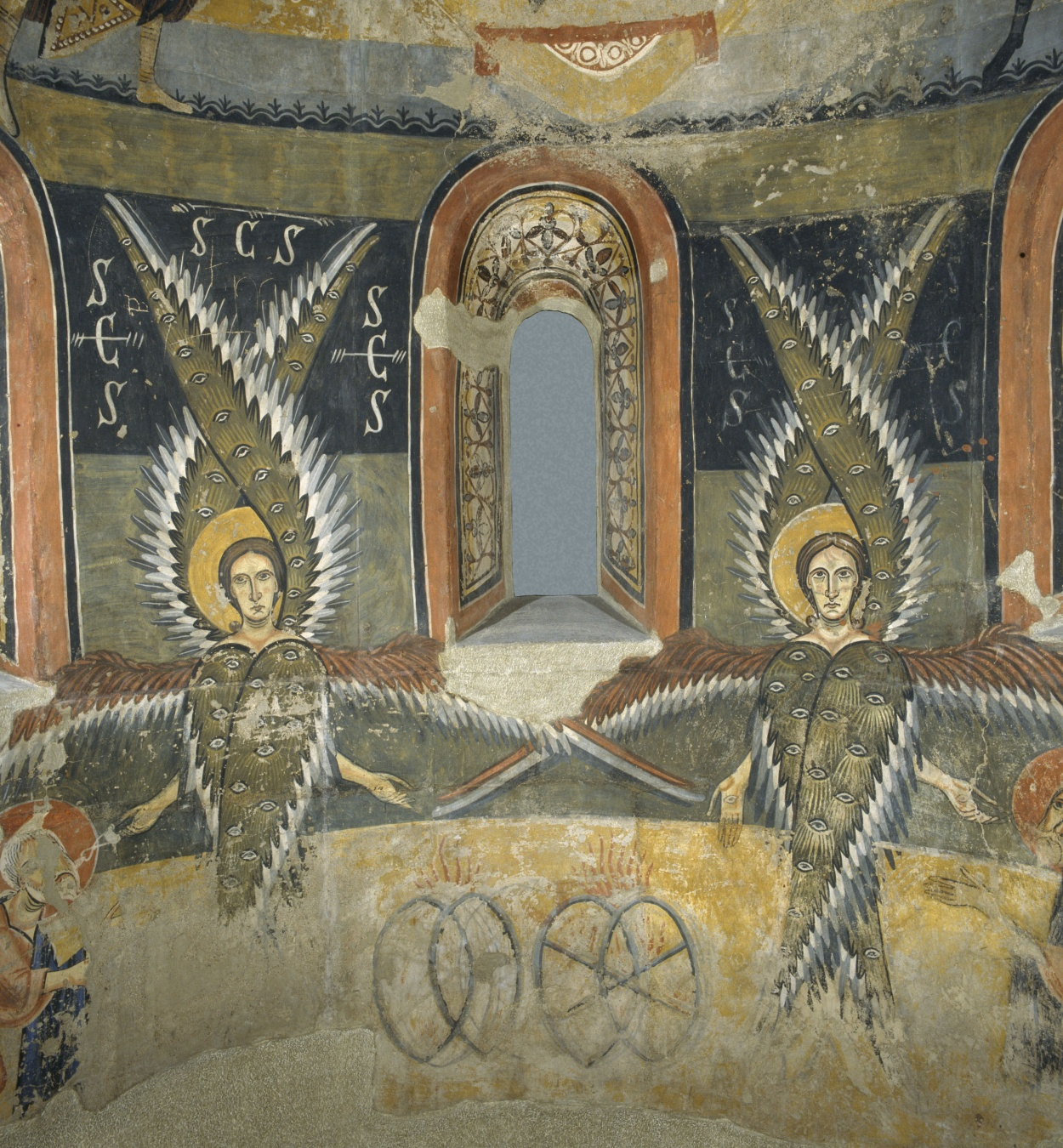 Mestre de Pedret - Absis de Santa Maria d'Àneu - Finals del segle XI – inicis del segle XII [13]