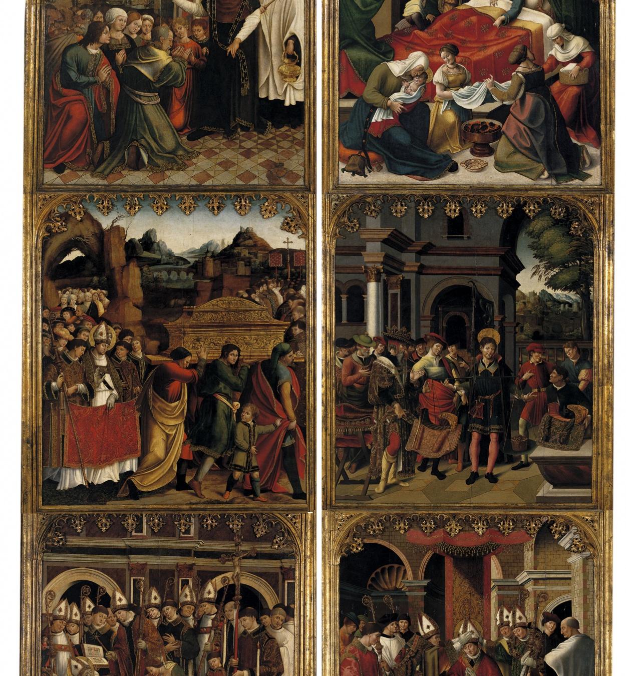 Pere Nunyes - Portes del retaule de sant Eloi - 1526-1529