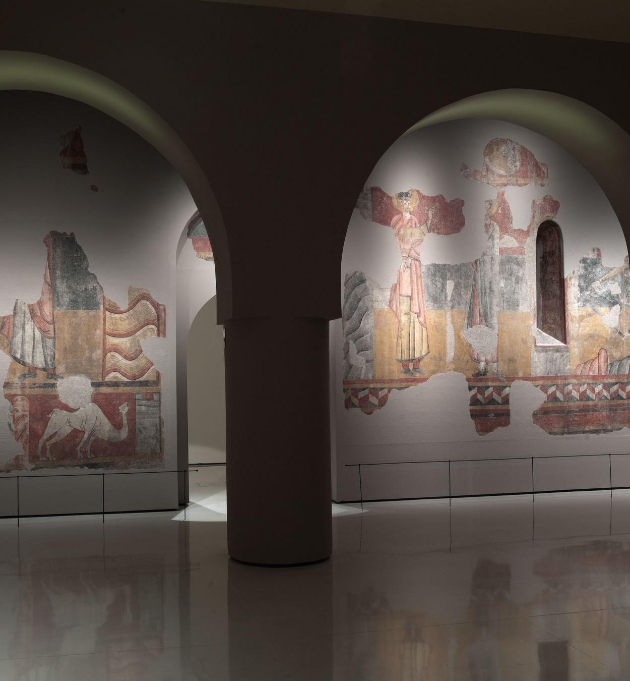 Mestre de Boí - Pintures de Sant Joan de Boí - Cap a 1100 [1]
