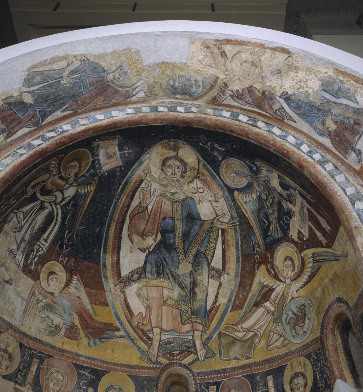 Mestre de Santa Coloma d'Andorra - Absis d'Engolasters - Cap a 1160 [2]