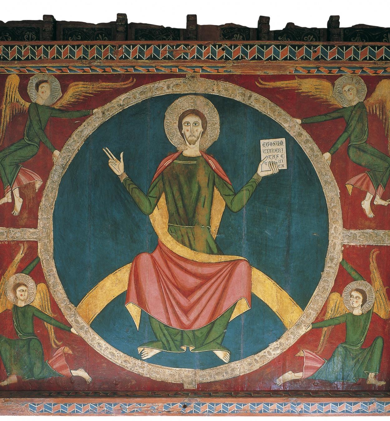 Anònim. Catalunya. Taller de la Seu d'Urgell del 1200 - Baldaquí de Tavèrnoles - Mitjan segle XIII
