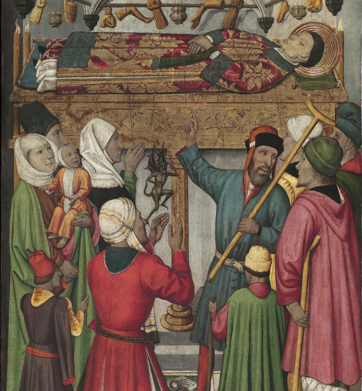 Jaume Huguet - Miracles pòstums de sant Vicenç - Cap a 1455-1460