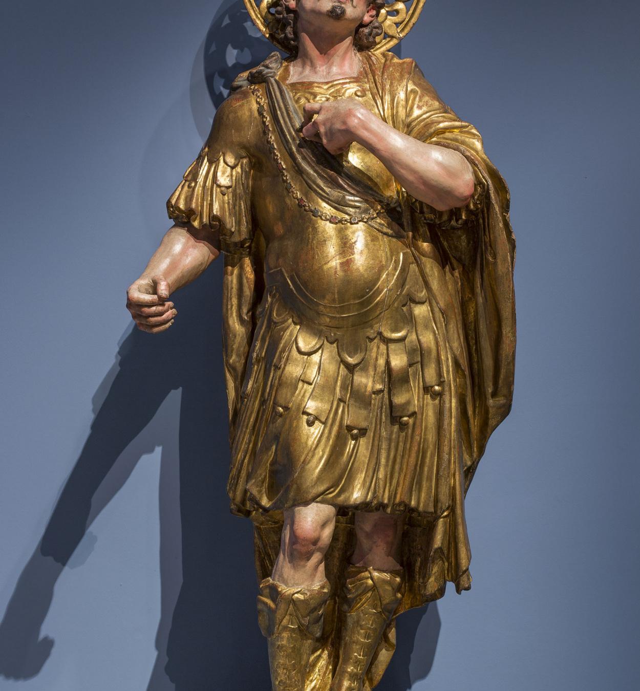 Andreu Sala - Warrior saint - Between 1680-1700