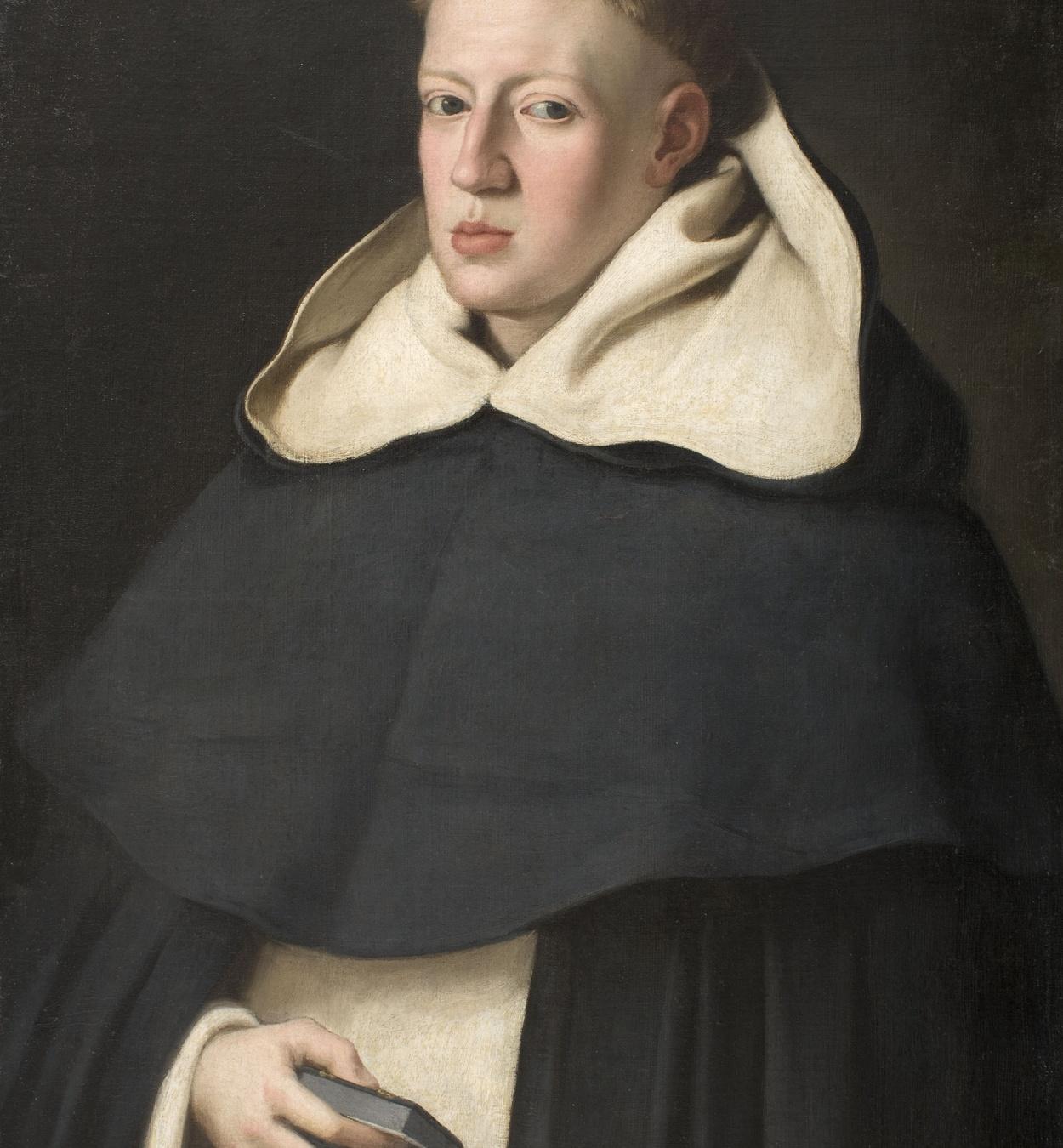 Juan Bautista Maíno - Retrat de Fra Alonso de sant Tomàs - Entre 1648-1649
