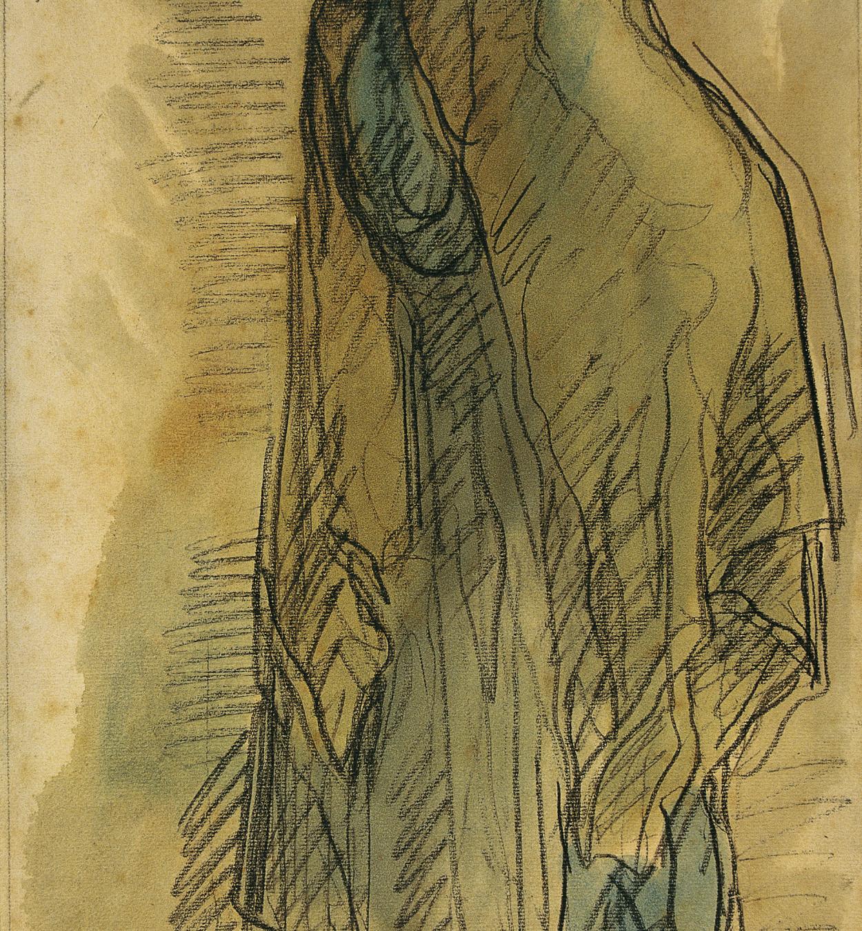 Isidre Nonell - Una buscona - 1906