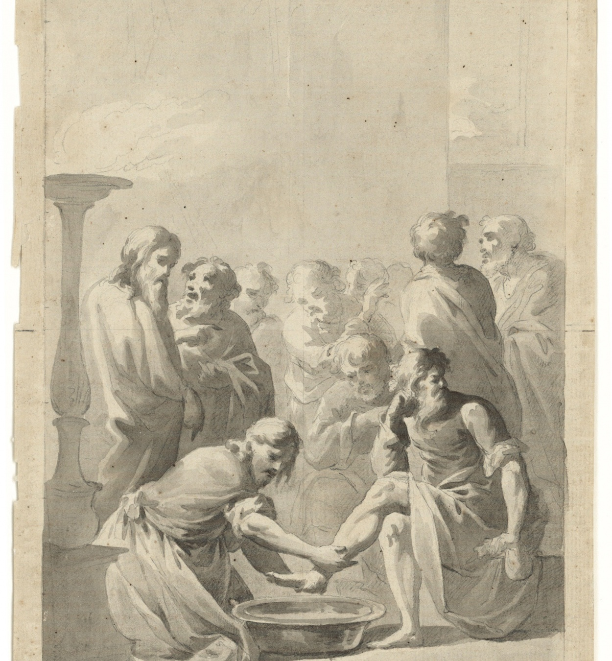 Pere Pau Montaña Llanas - The Washing of the Feet - 1780