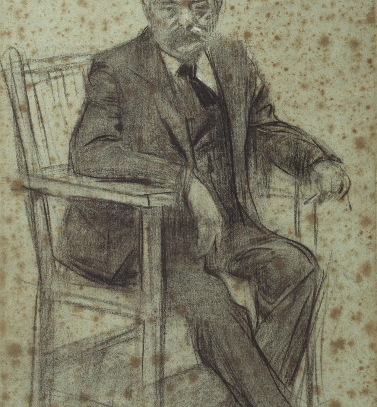 Ramon Casas - Retrato de Valentí Almirall - Hacia 1897-1899