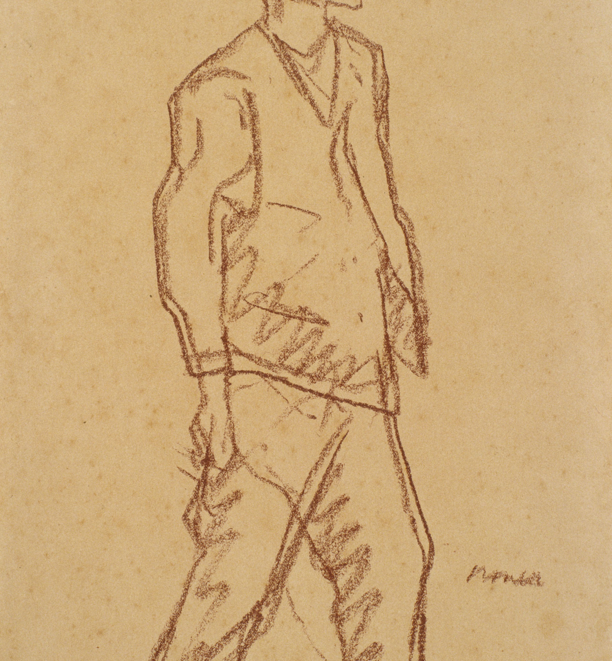Isidre Nonell - Young boy - 1911