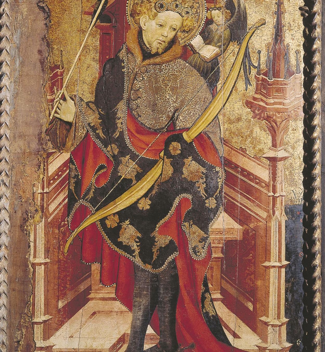 Joan Mates - Calvari; Sant Sebastià - 1417-1425 [1]