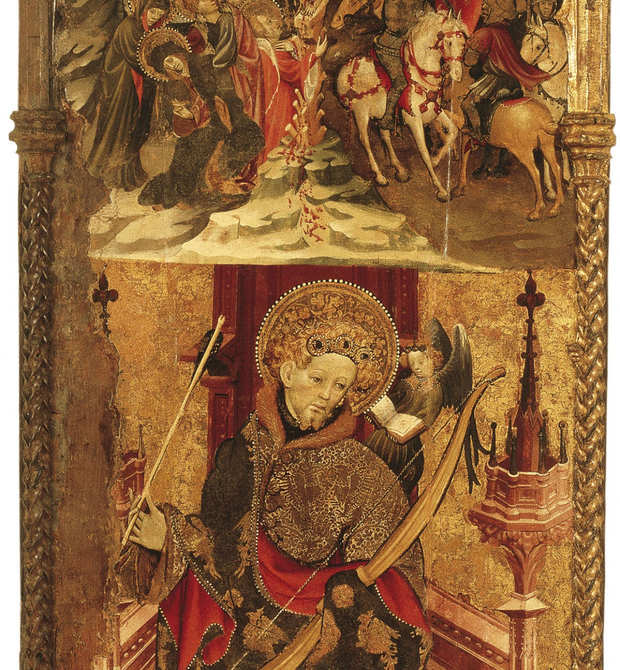 Joan Mates - Calvari; Sant Sebastià - 1417-1425