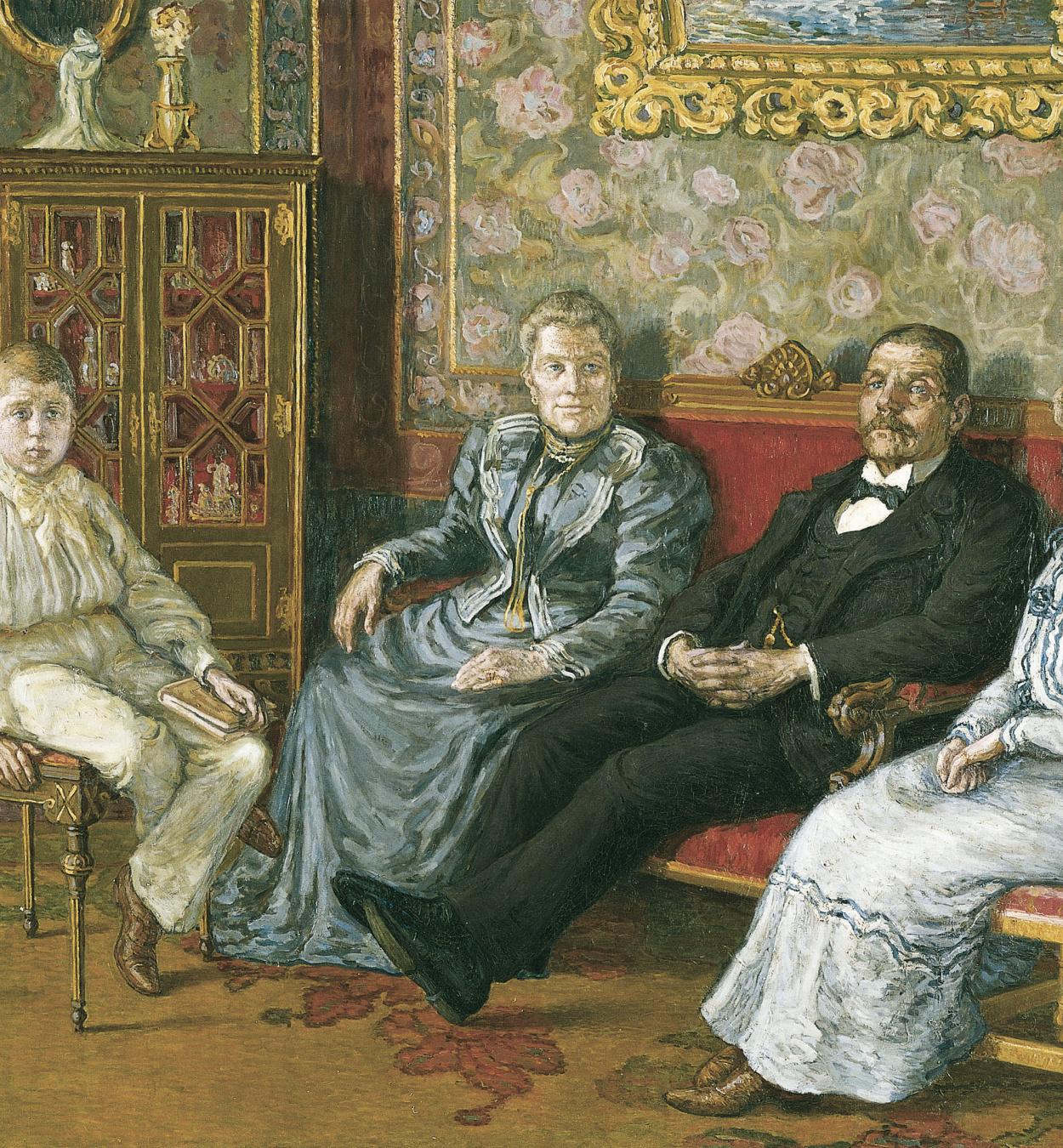 Marià Pidelaserra - The Deu Family - Barcelona, 1902