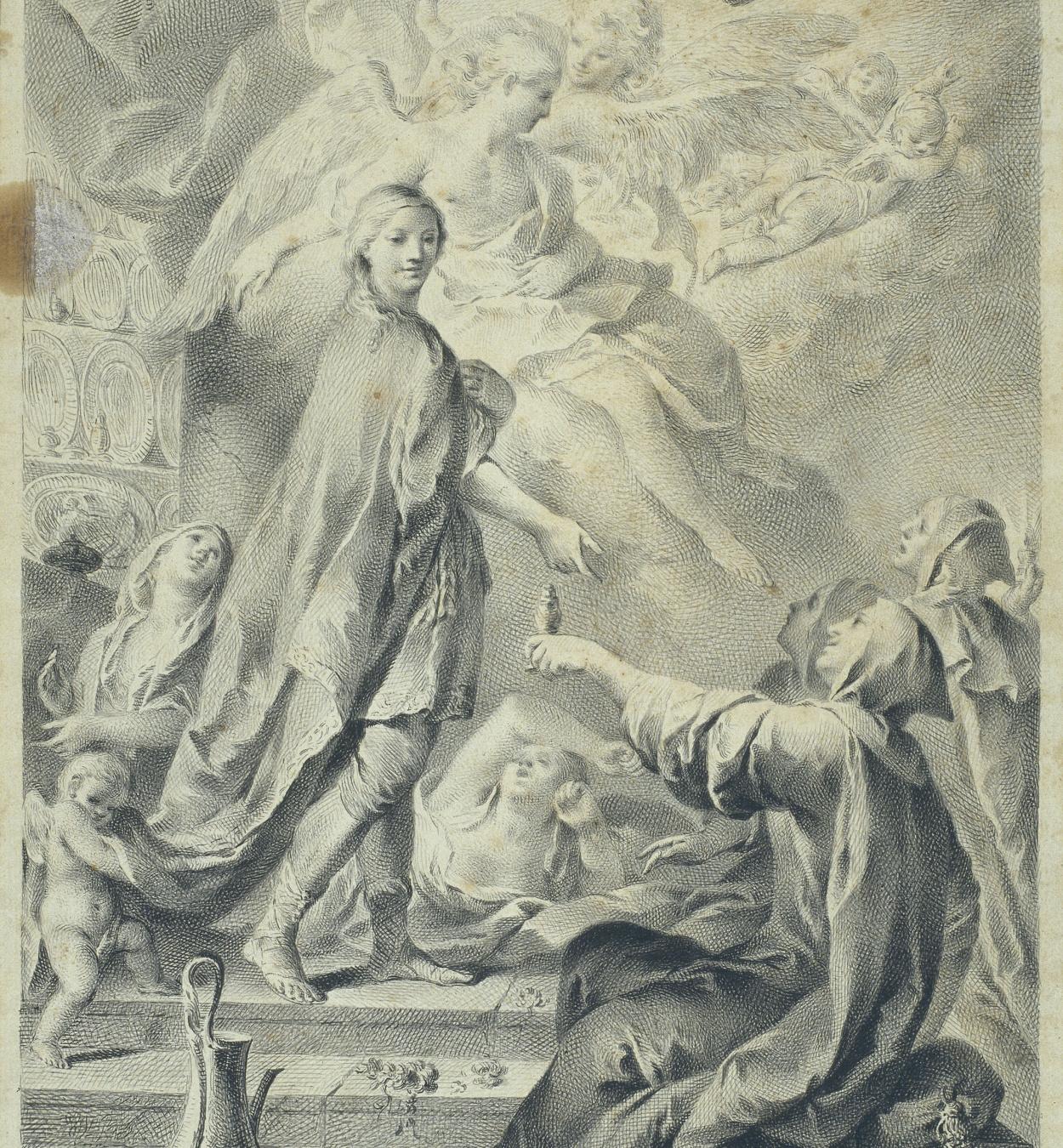 José Camarón - Paràbola de les verges nècies i prudents - Cap a 1761