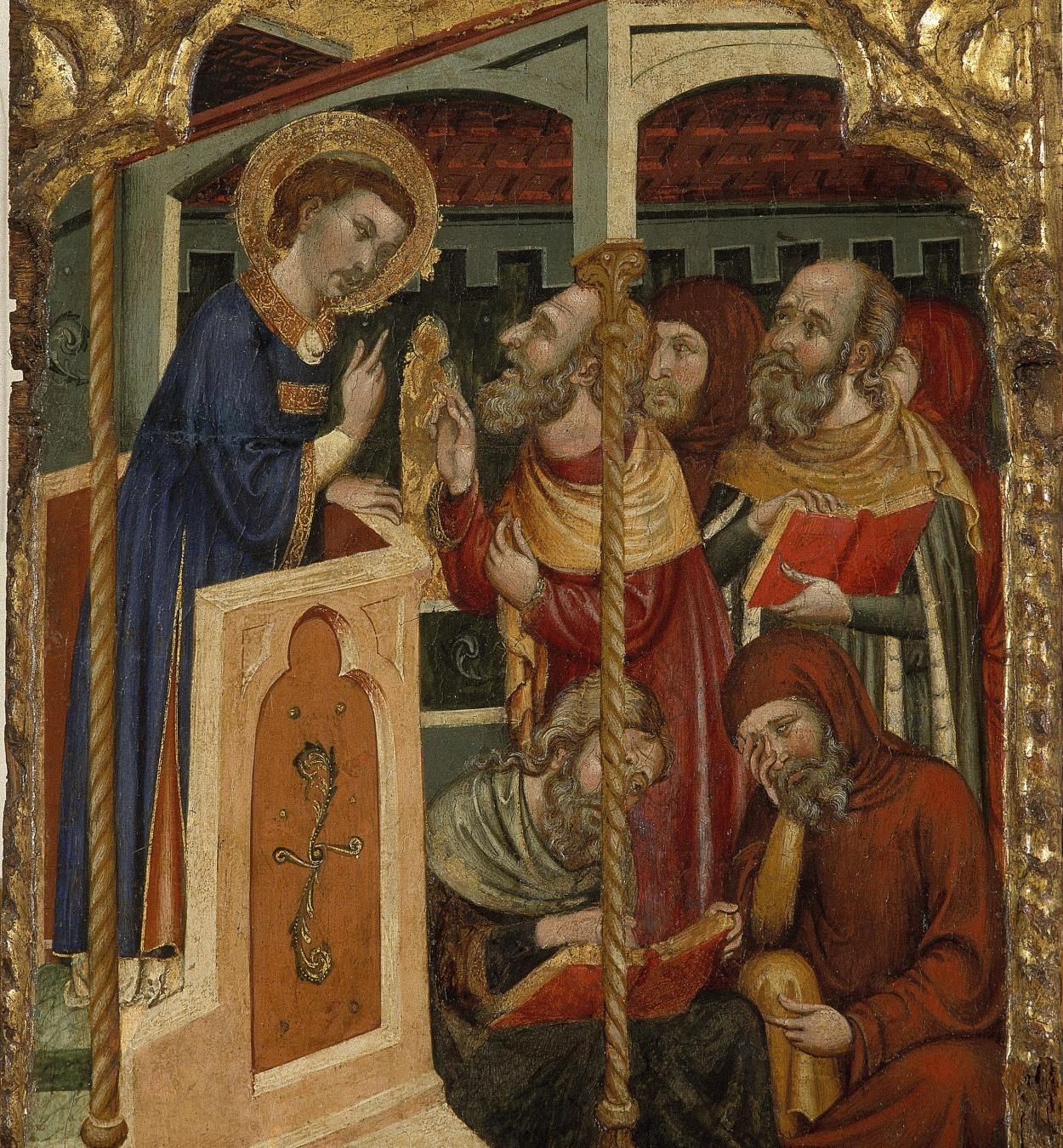Ferrer i Arnau Bassa - Disputa de sant Esteve amb els jueus - Cap a 1340-1360