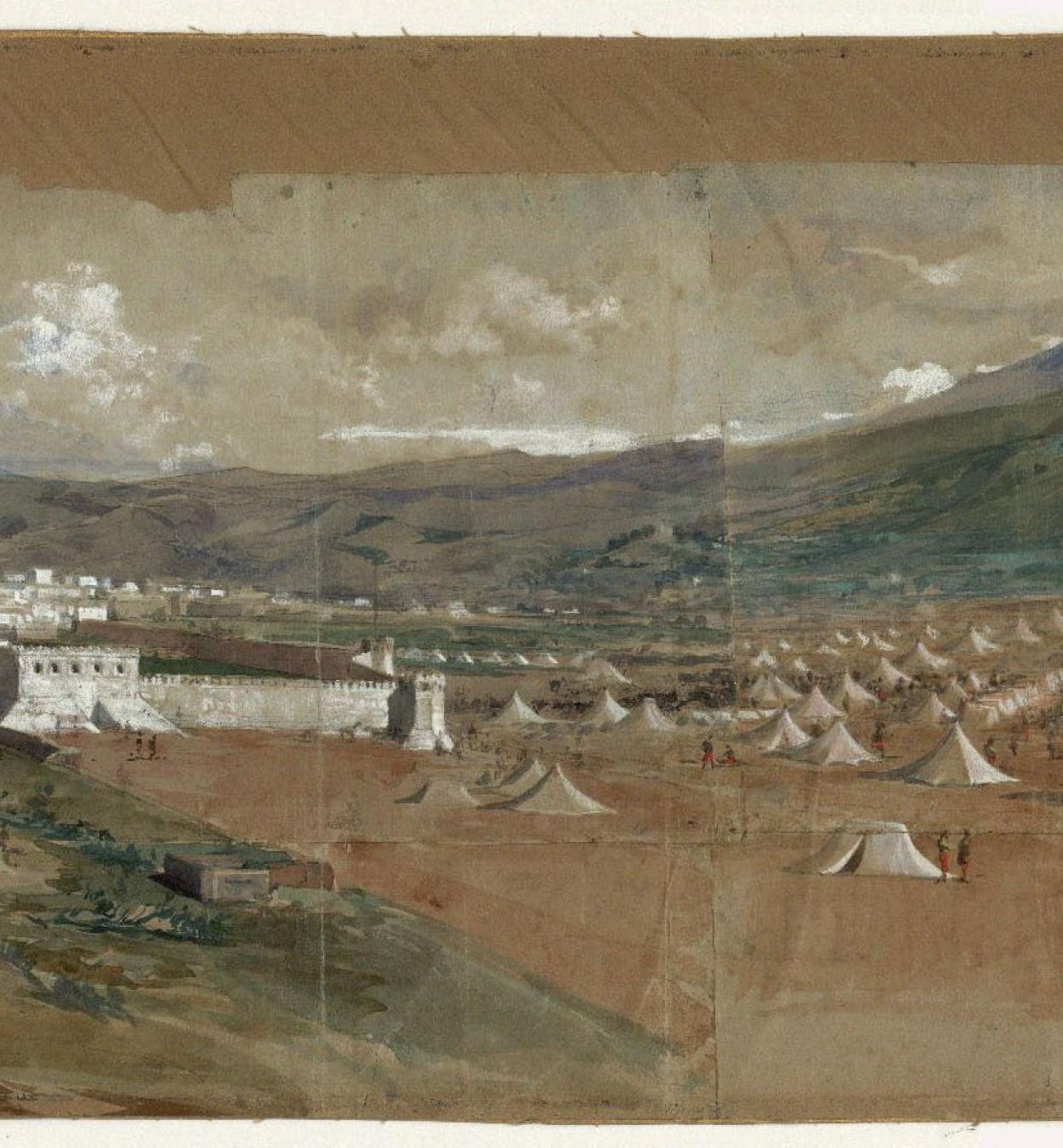 Marià Fortuny - View of Tetouan - 1860