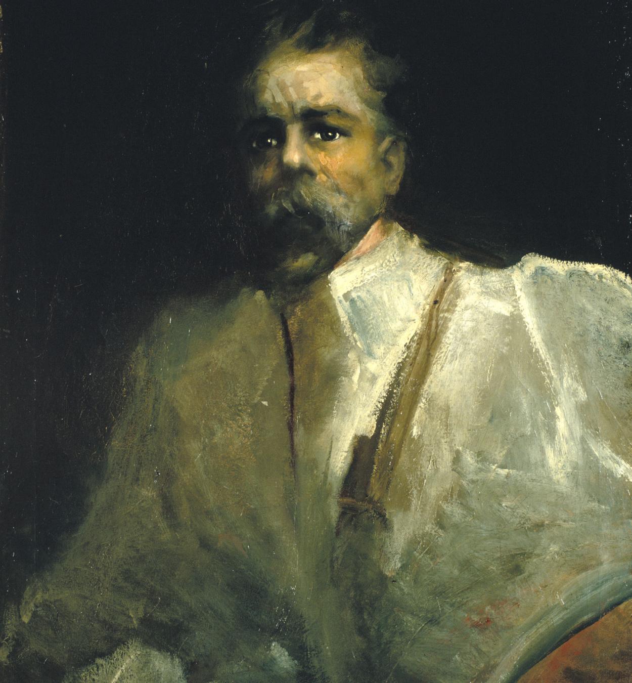Aleix Clapés - Self-portrait  - Circa 1902